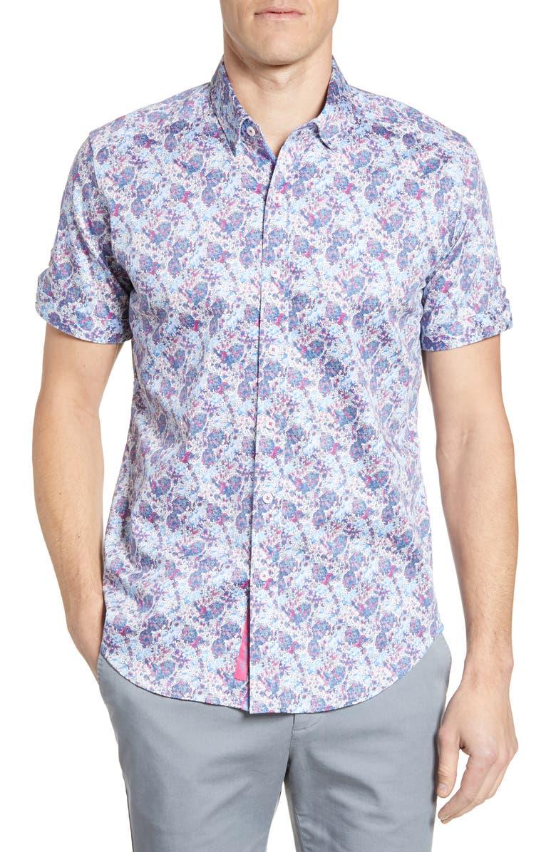 Robert Graham T-shirts PALADIN TAILORED FIT SPORT SHIRT