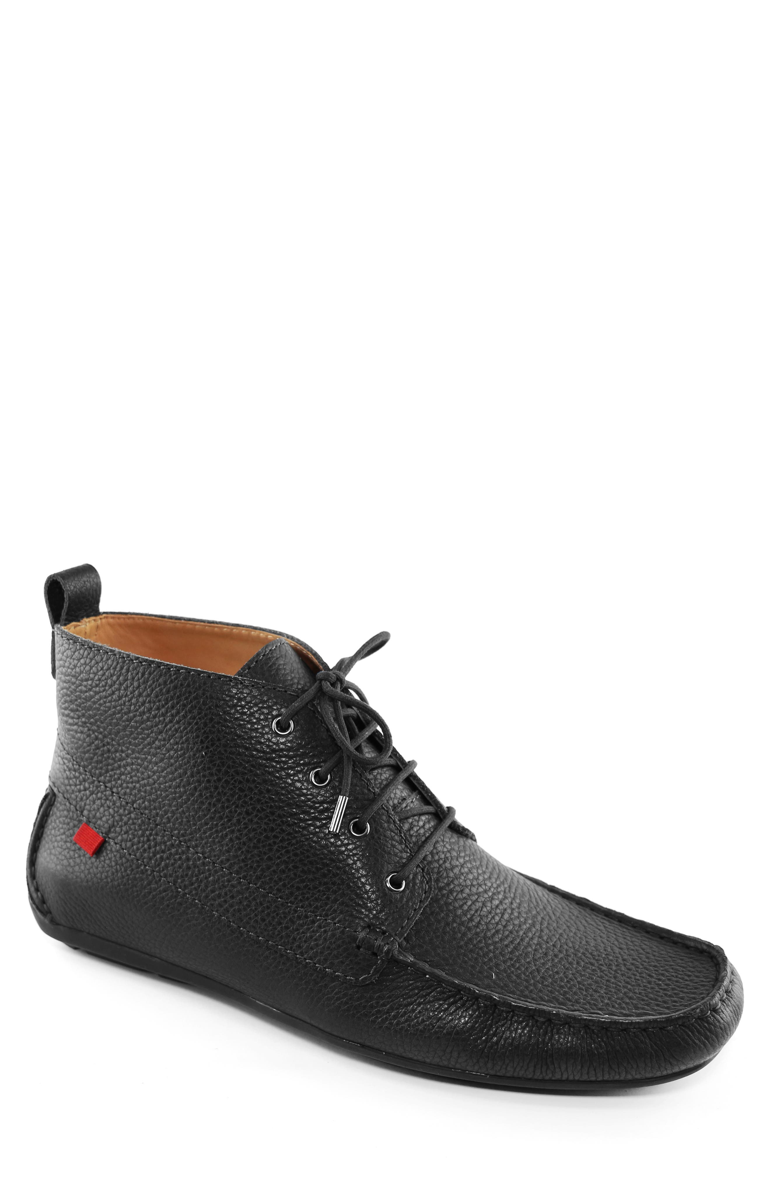 MARC JOSEPH NEW YORK Soho Boot 2 Chukka Boot, Main, color, BLACK LEATHER
