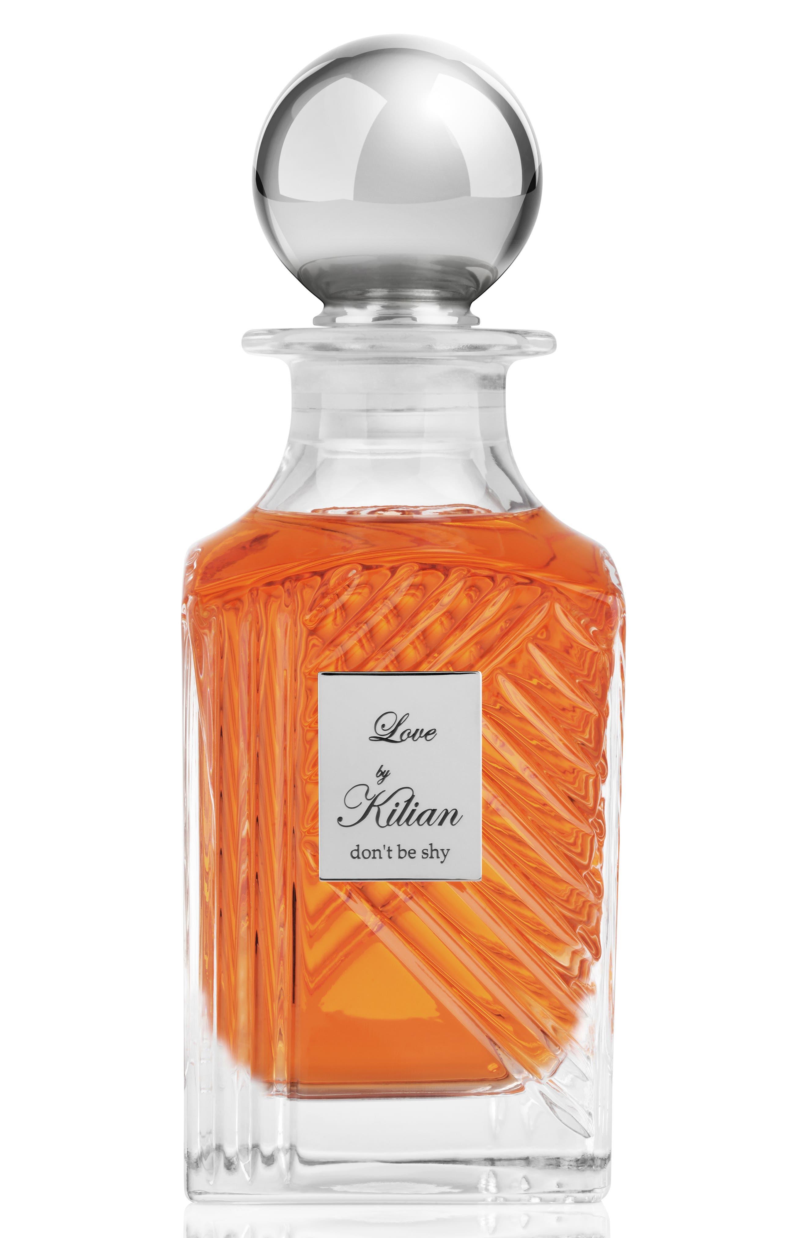 KILIAN 'L'Oeuvre Noire - Love, don't be shy' Mini Fragrance Carafe, Main, color, NO COLOR
