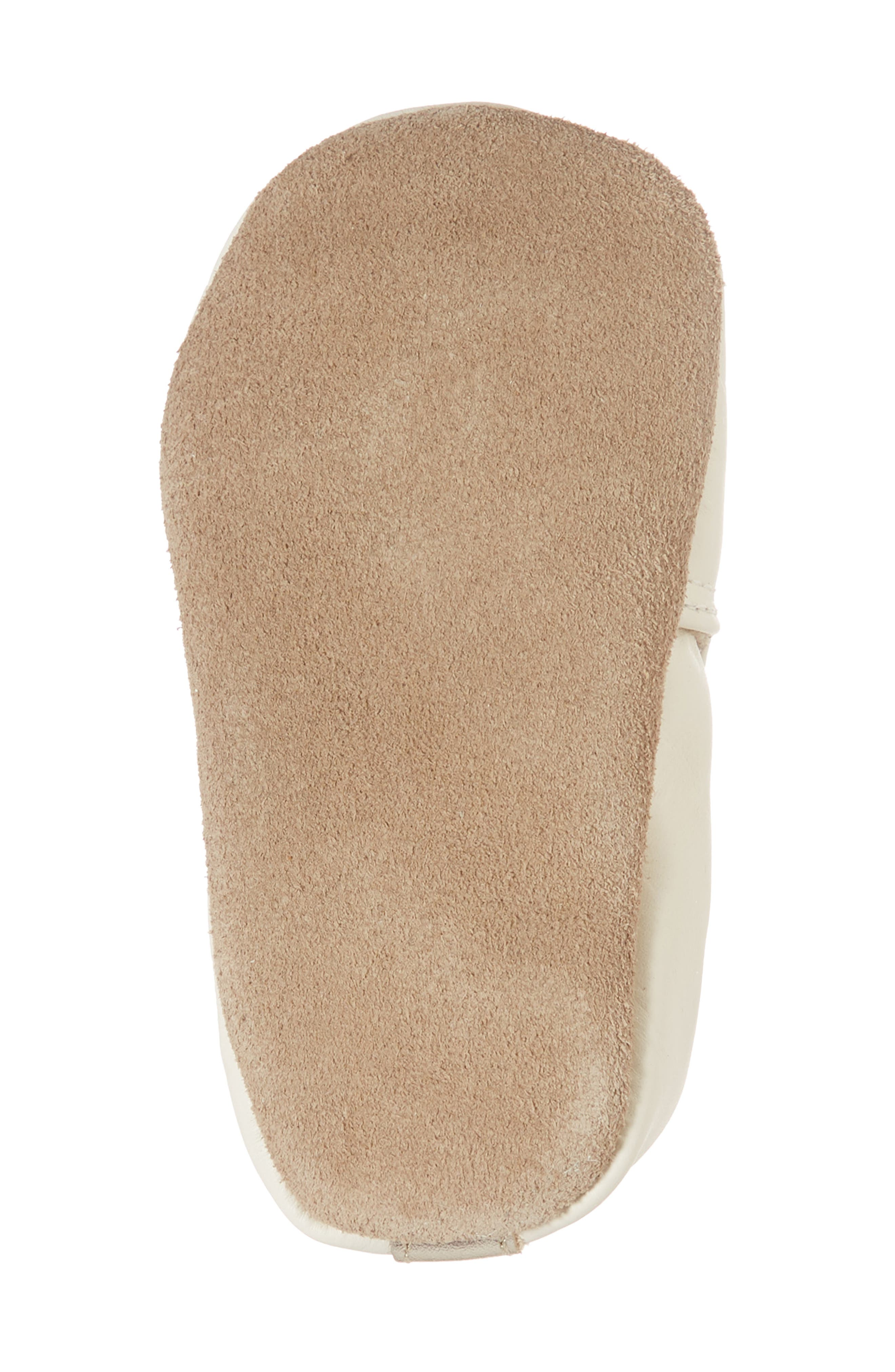 ROBEEZ<SUP>®</SUP>, Bee Moccasin Sneaker, Alternate thumbnail 6, color, CREAM