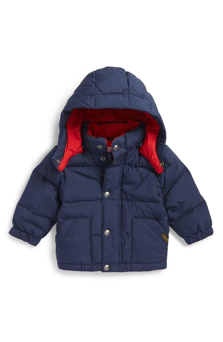 eaacd0584 Ralph Lauren 'Elmwood' Water Resistant Jacket (Baby Boys) | Nordstrom