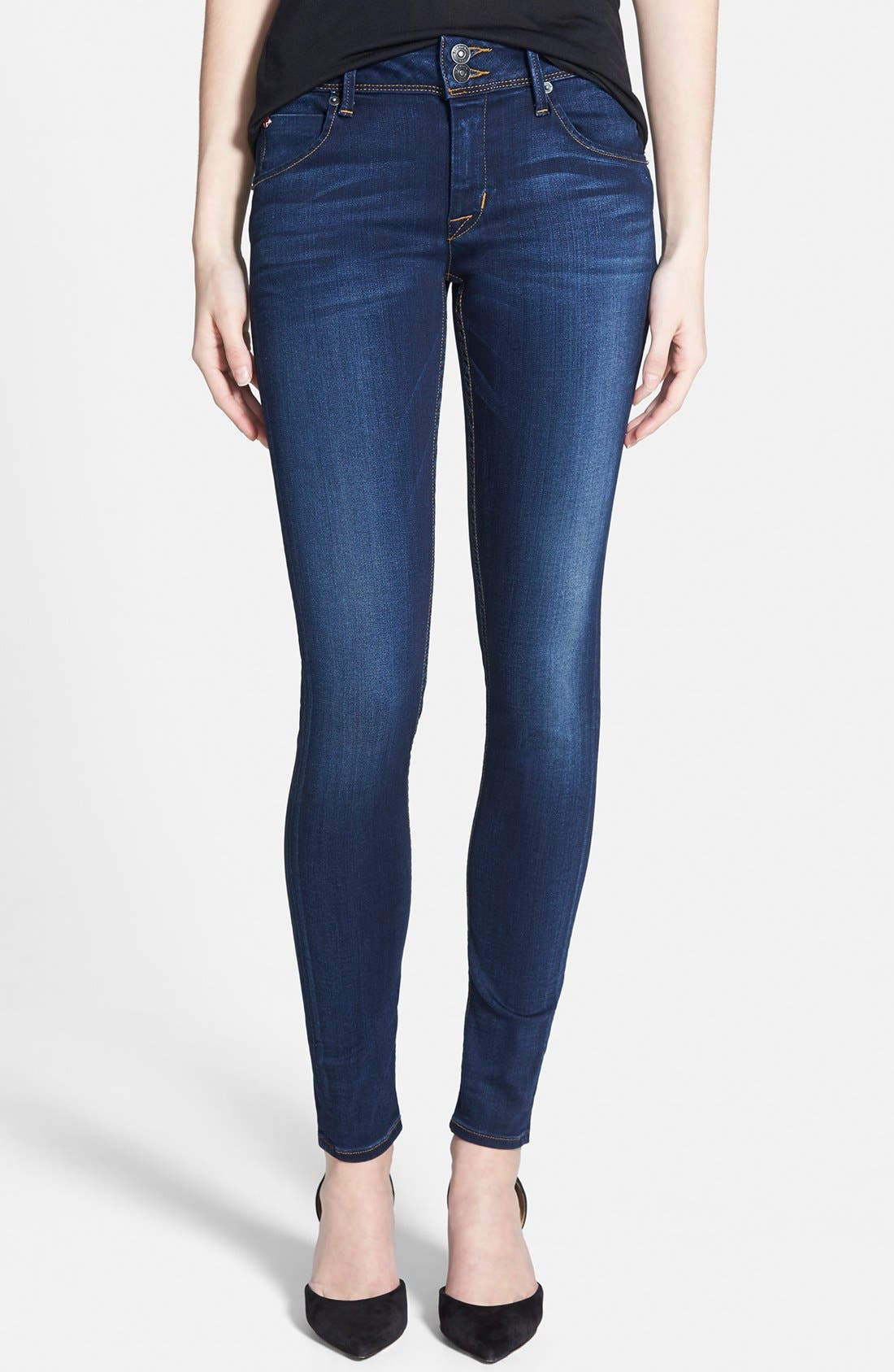 HUDSON JEANS 'Collin' Supermodel Skinny Jeans, Main, color, 423