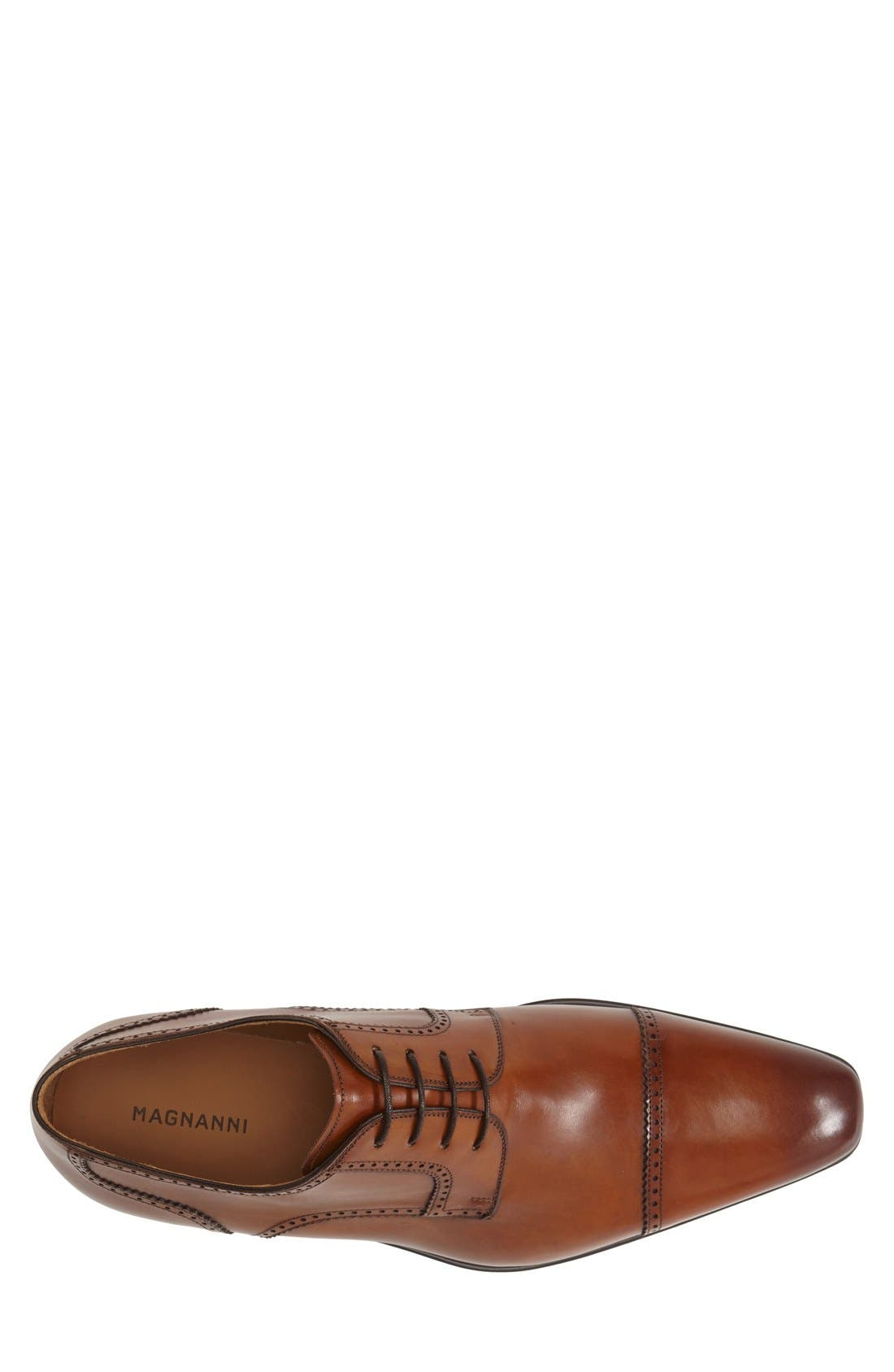 MAGNANNI, 'Carlito' Cap Toe Derby, Alternate thumbnail 3, color, 219