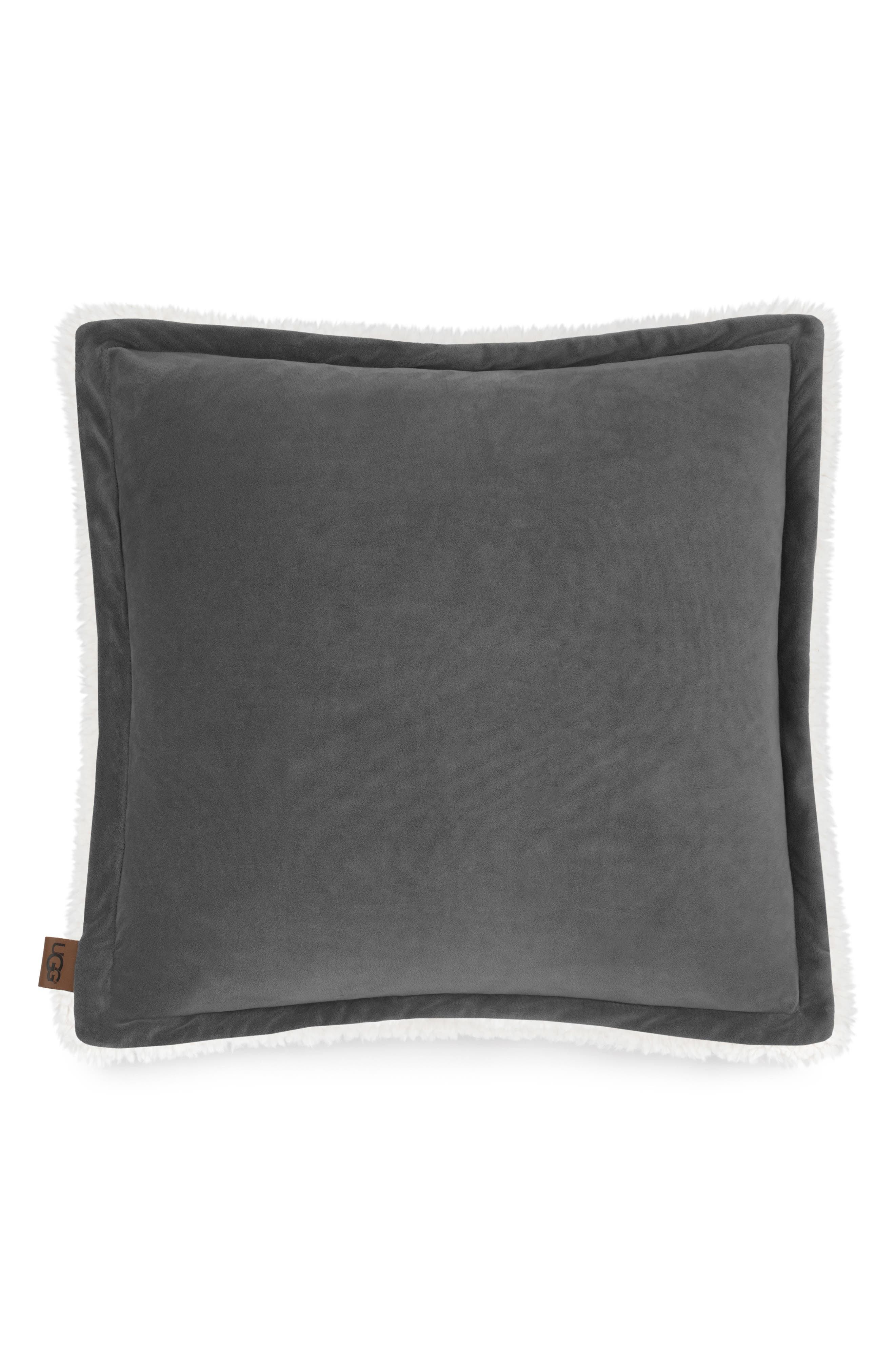 UGG<SUP>®</SUP> Bliss PIllow, Main, color, CHARCOAL