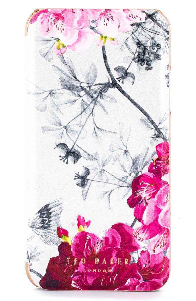 15bc4eefb Ted Baker London Babylon iPhone X Xs Xs Max   XR Mirror Folio Case ...