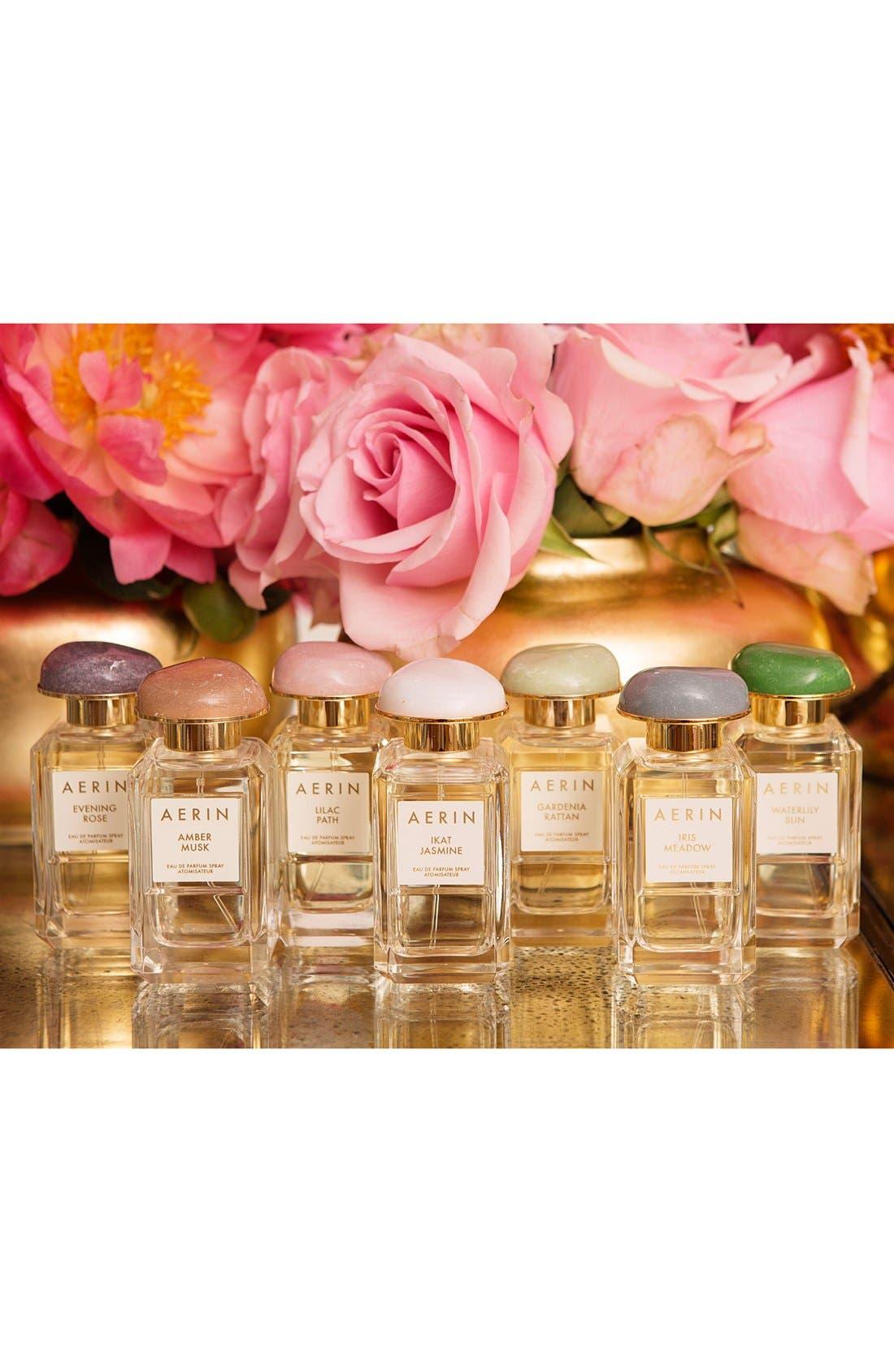 ESTÉE LAUDER, AERIN Beauty Ikat Jasmine Eau de Parfum Spray, Alternate thumbnail 4, color, NO COLOR