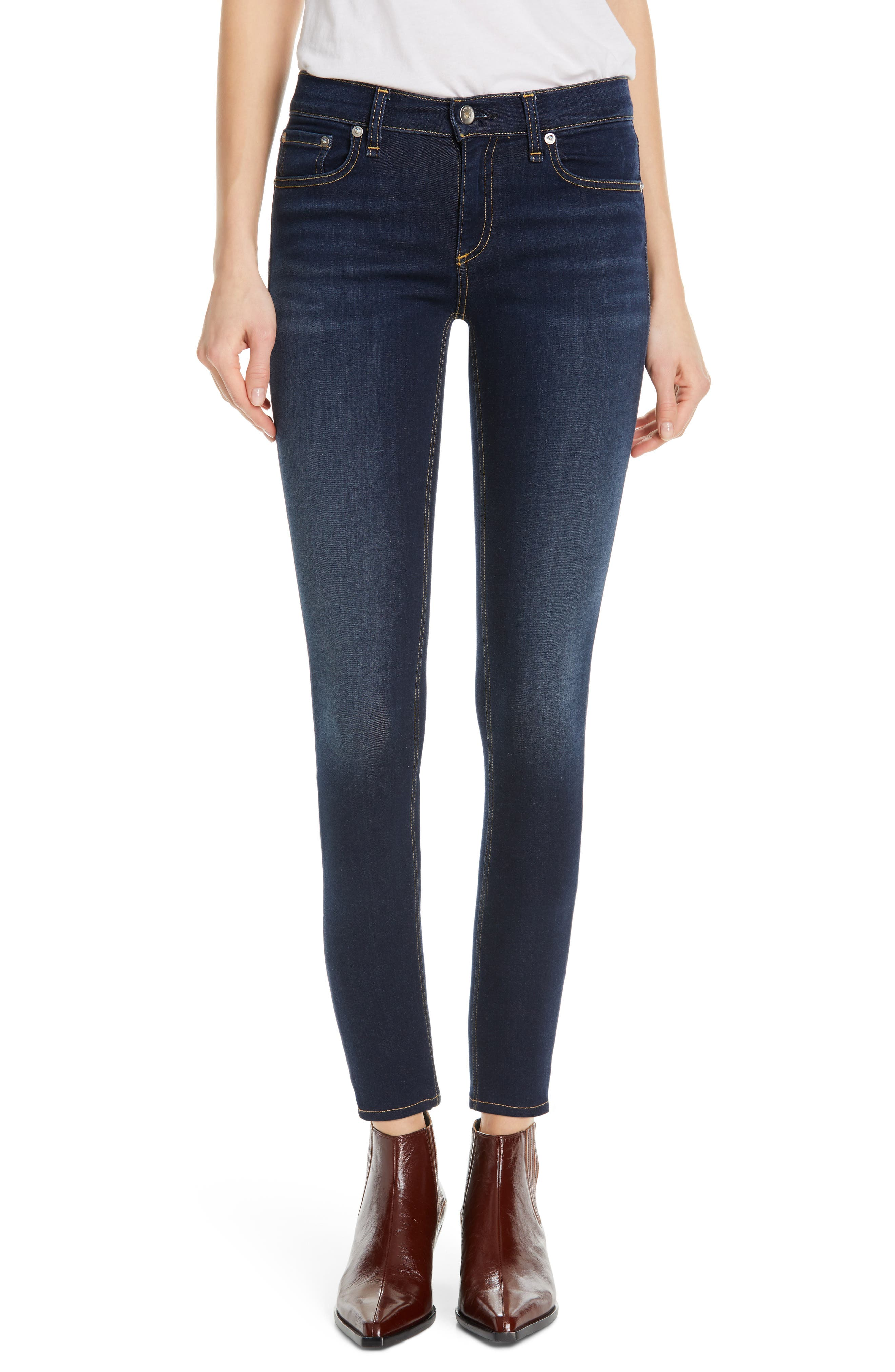 RAG & BONE, Cate Ankle Skinny Jeans, Main thumbnail 1, color, CARMEN
