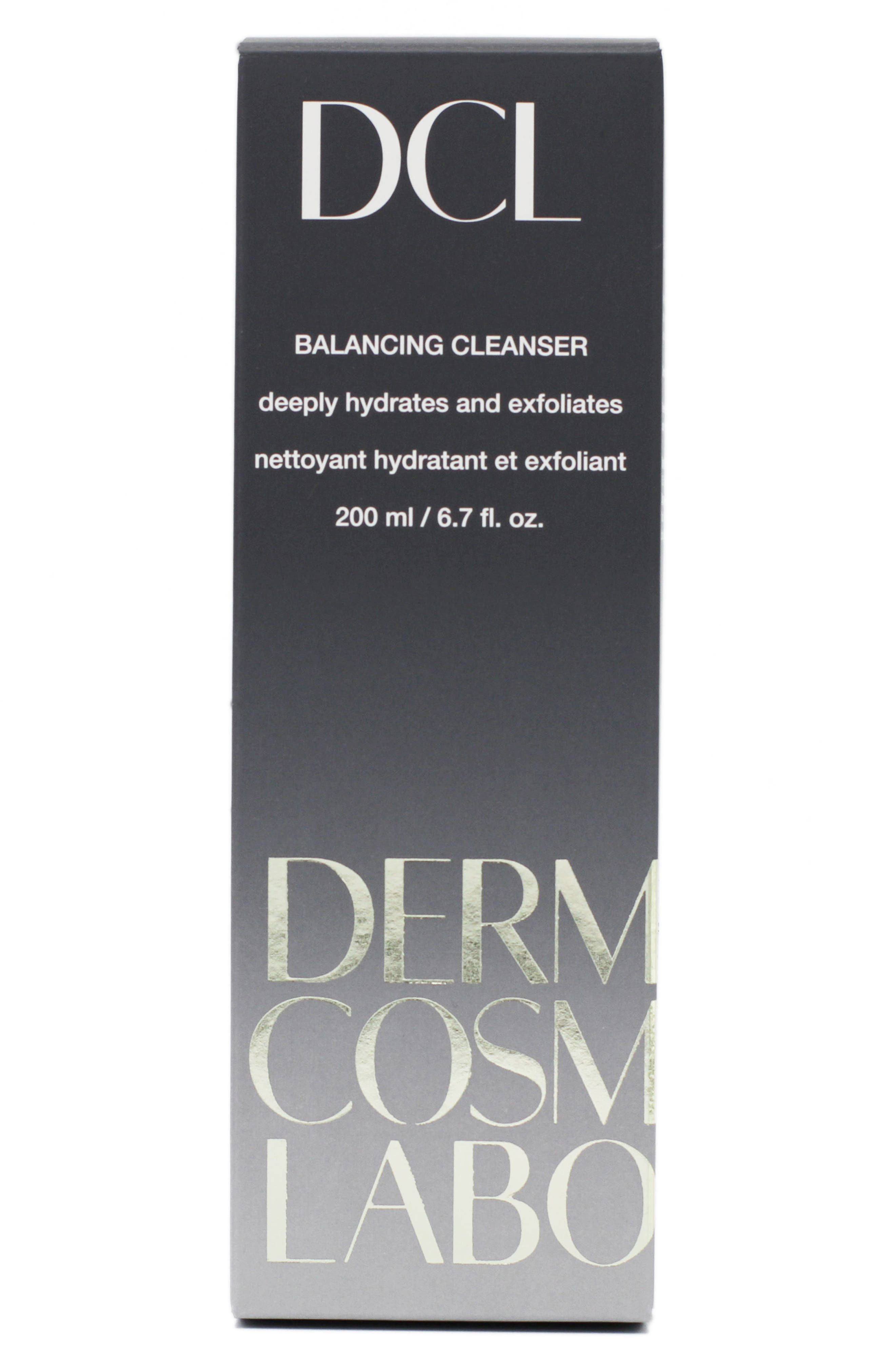 DERMATOLOGIC COSMETIC LABORATORIES, Balancing Cleanser, Alternate thumbnail 2, color, 000