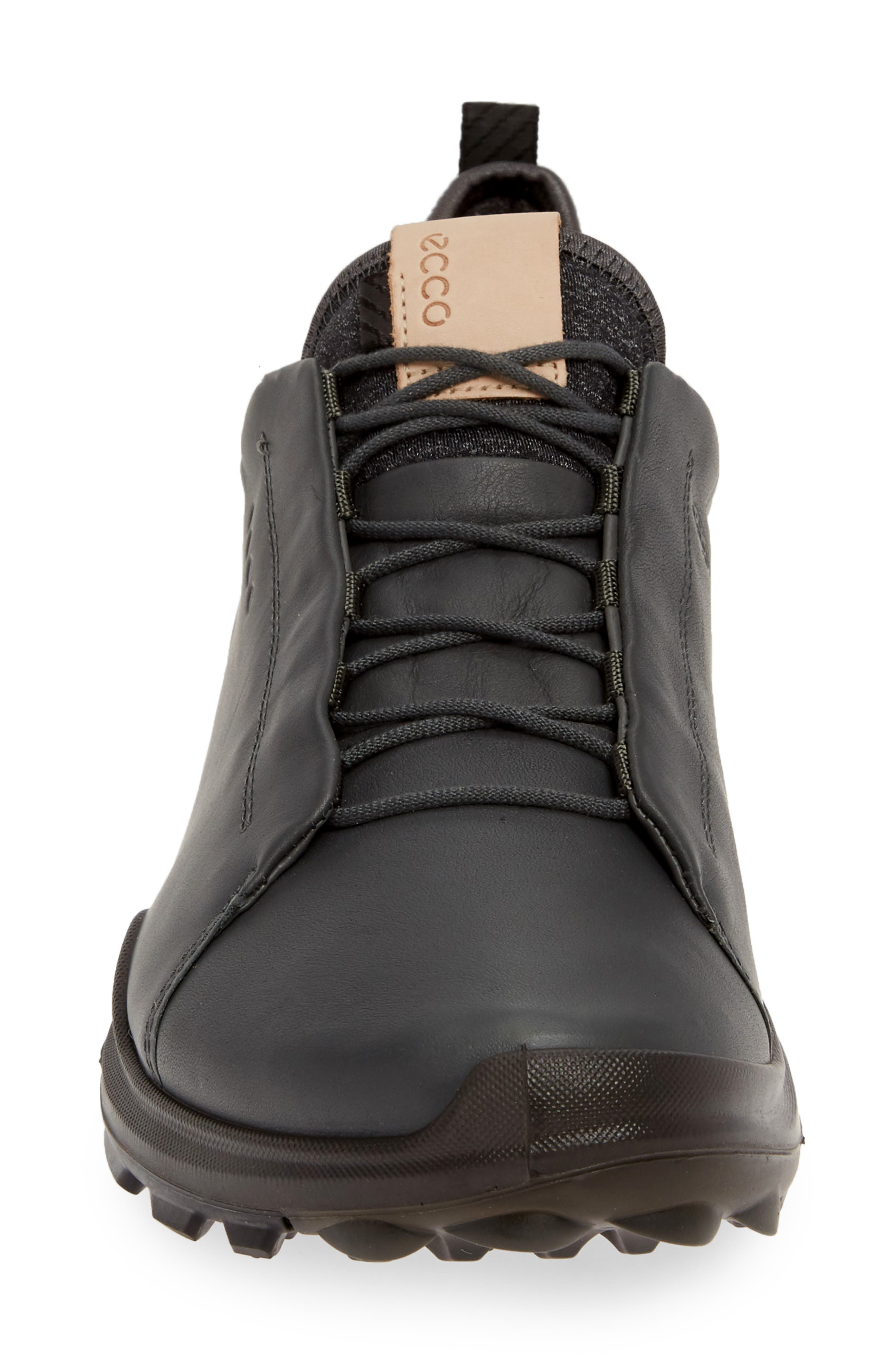 ECCO, BIOM<sup>®</sup> Hybrid 3 OL Gore-Tex<sup>®</sup> Golf Shoe, Alternate thumbnail 4, color, DARK SHADOW LEATHER