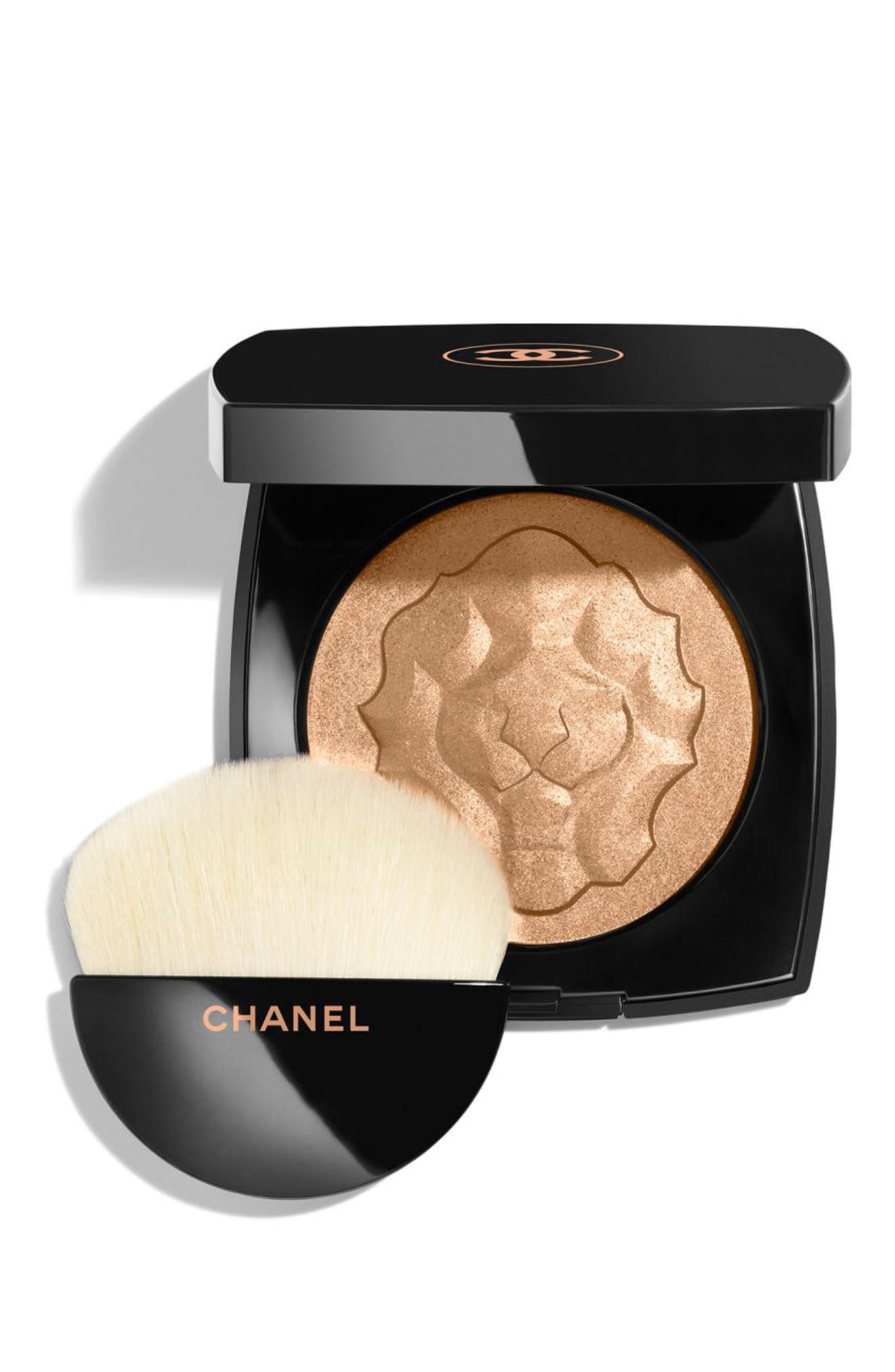 CHANEL, LE LION DE CHANEL<br />Illuminating Powder, Main thumbnail 1, color, NO COLOR