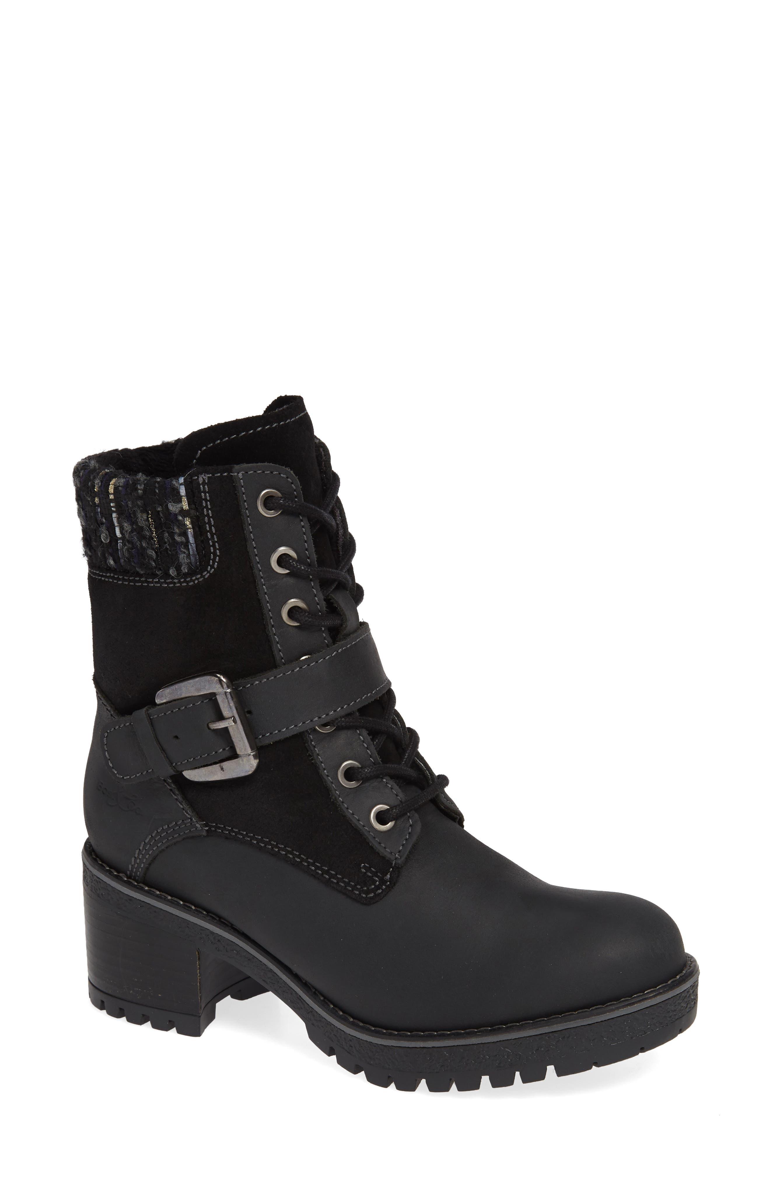 Bos. & Co. Marvel Waterproof Moto Boot - Black