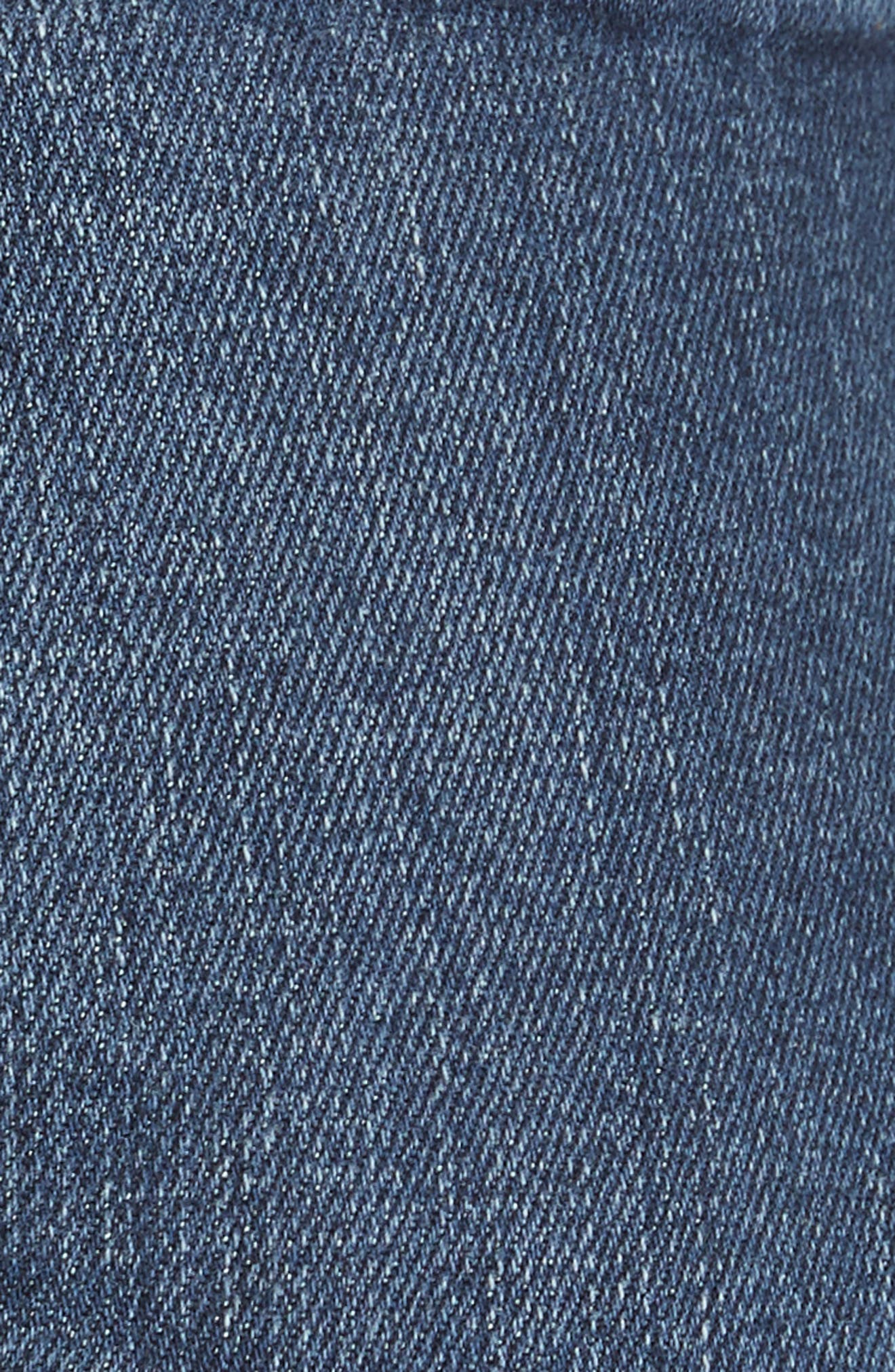 FRAME, Le Mini Boot Jeans, Alternate thumbnail 6, color, BLENDON