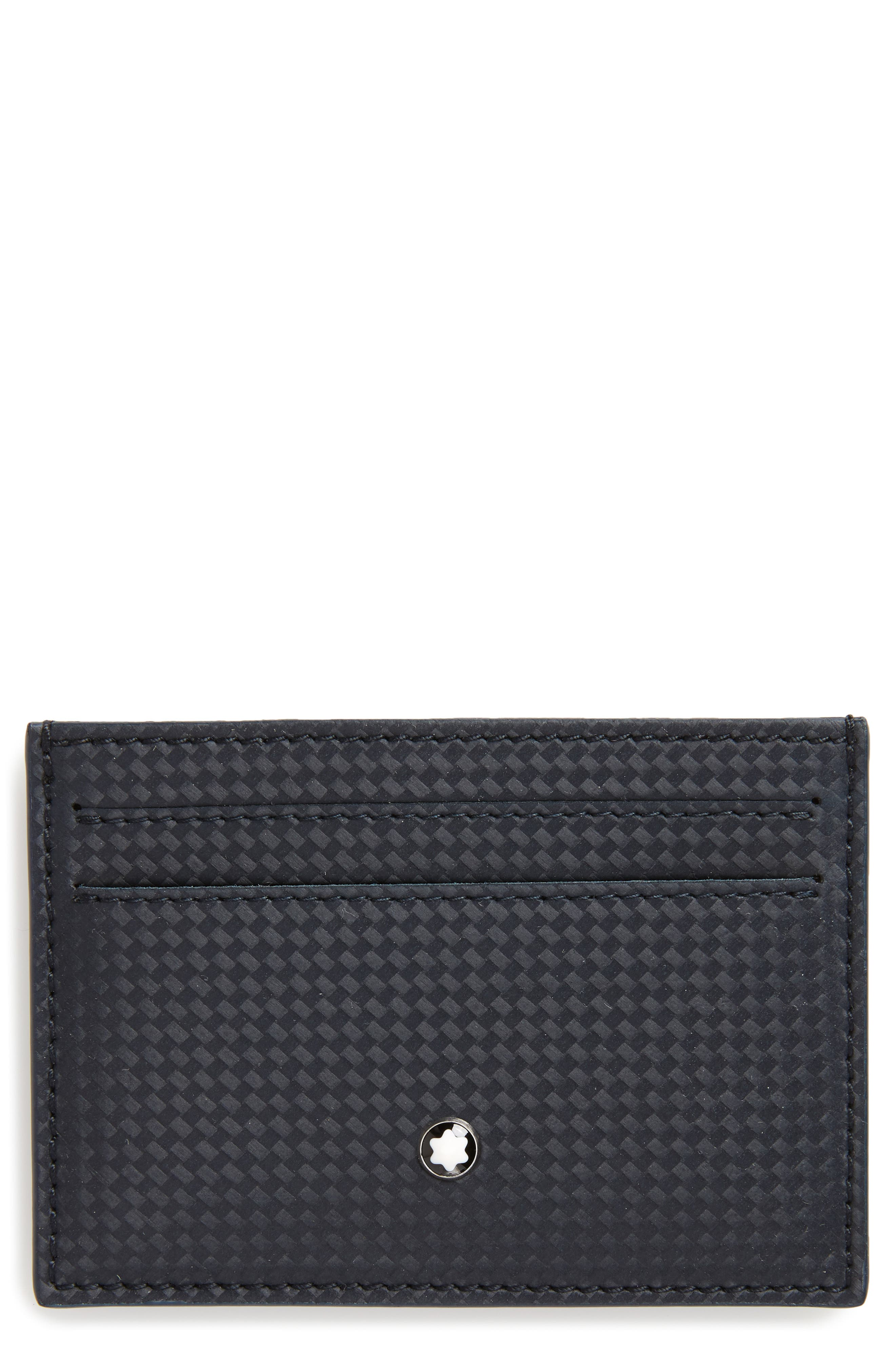 MONTBLANC, Extreme Leather Card Case, Main thumbnail 1, color, 400
