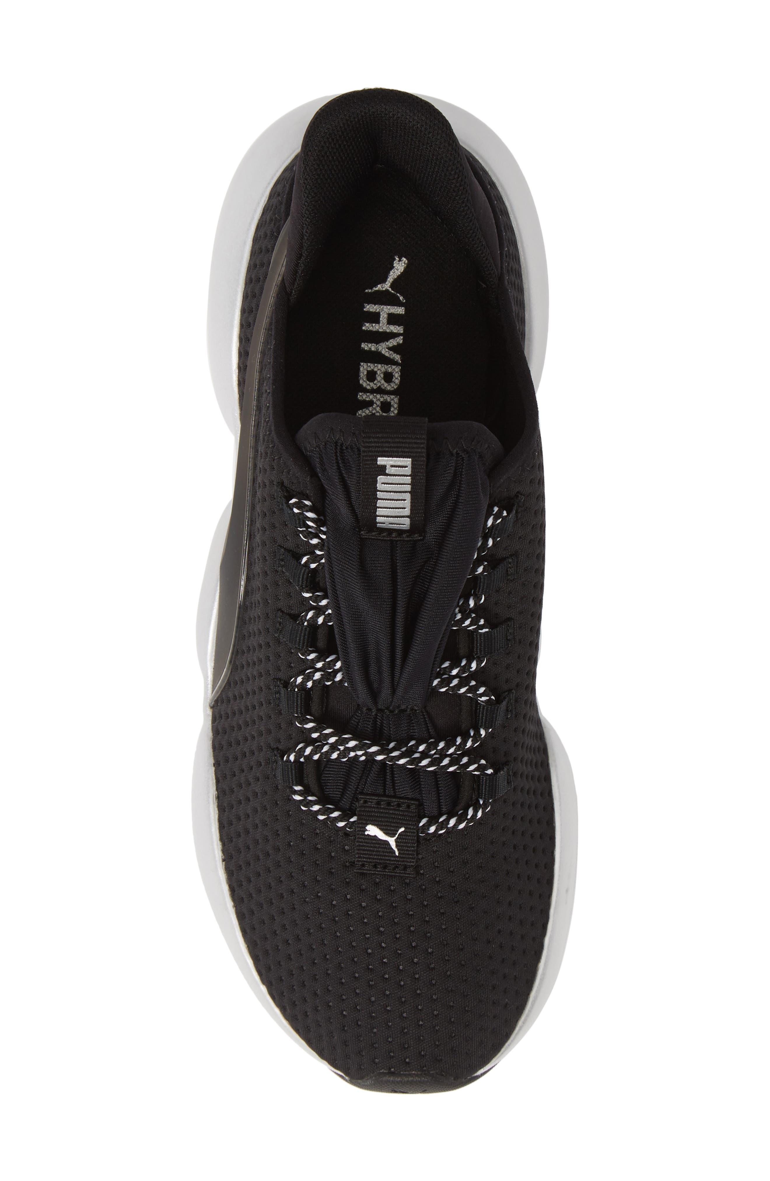 PUMA, Mode XT Hybrid Training Shoe, Alternate thumbnail 5, color, BLACK