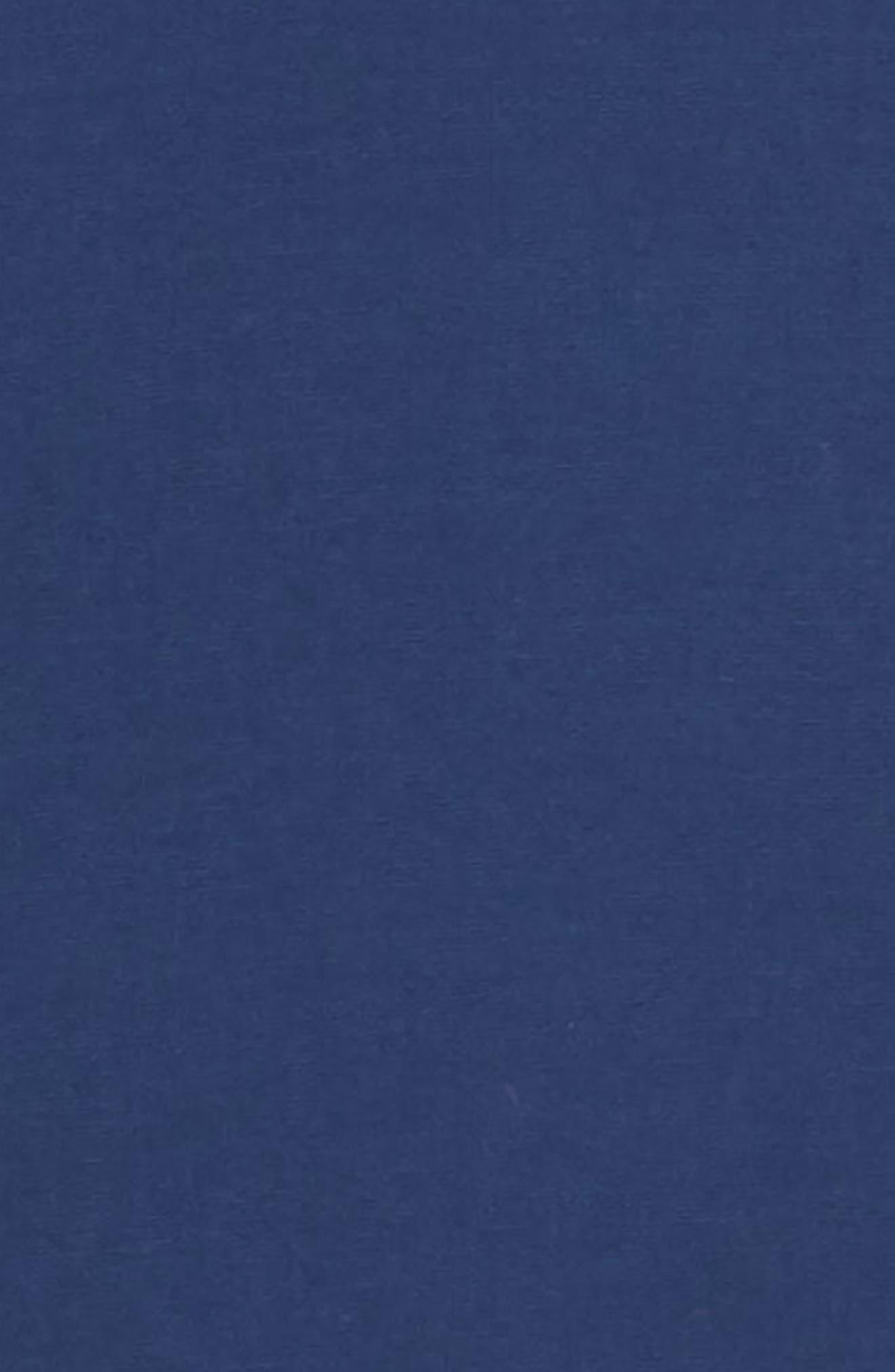 PS PAUL SMITH, Contrast Sport Shirt, Alternate thumbnail 6, color, BLUE