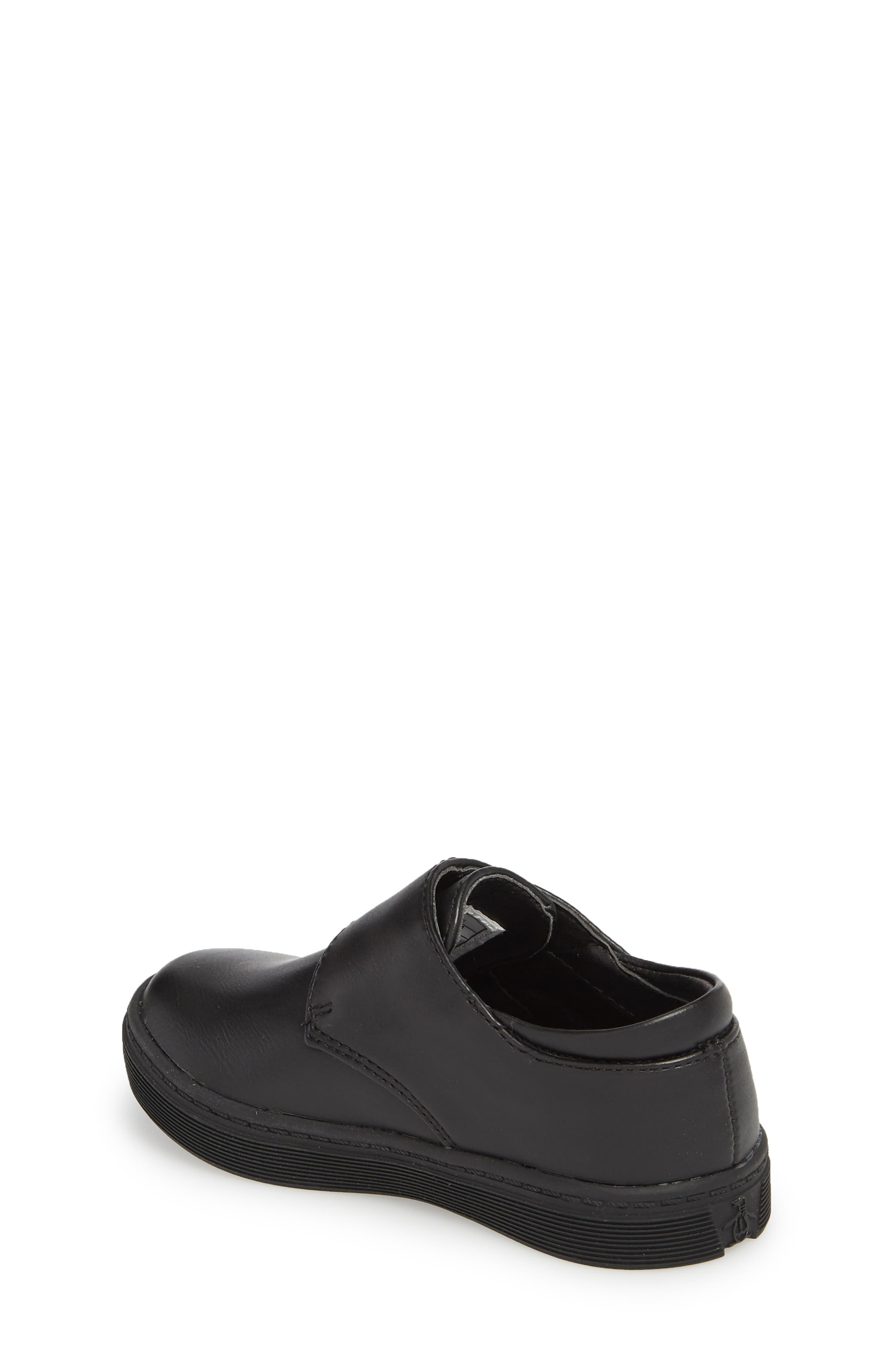 ORIGINAL PENGUIN, Felton Sneaker, Alternate thumbnail 2, color, BLACK/ BLACK