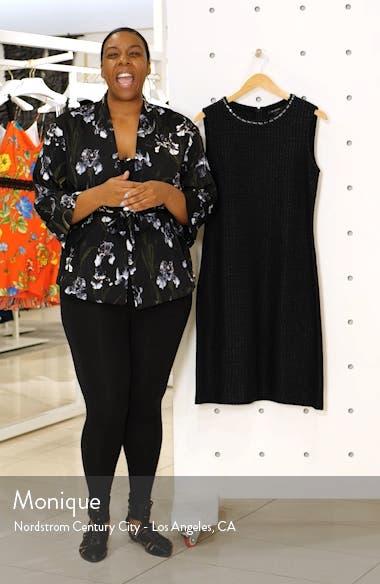 Adina Chain Trim Knit Dress, sales video thumbnail