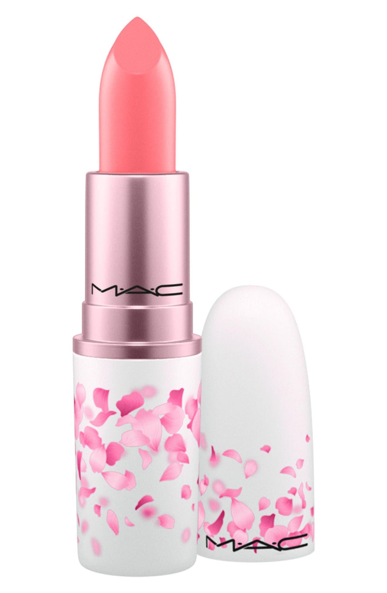 MAC COSMETICS, MAC Boom, Boom, Bloom Lipstick, Main thumbnail 1, color, HI-FRUCTEASE (M)