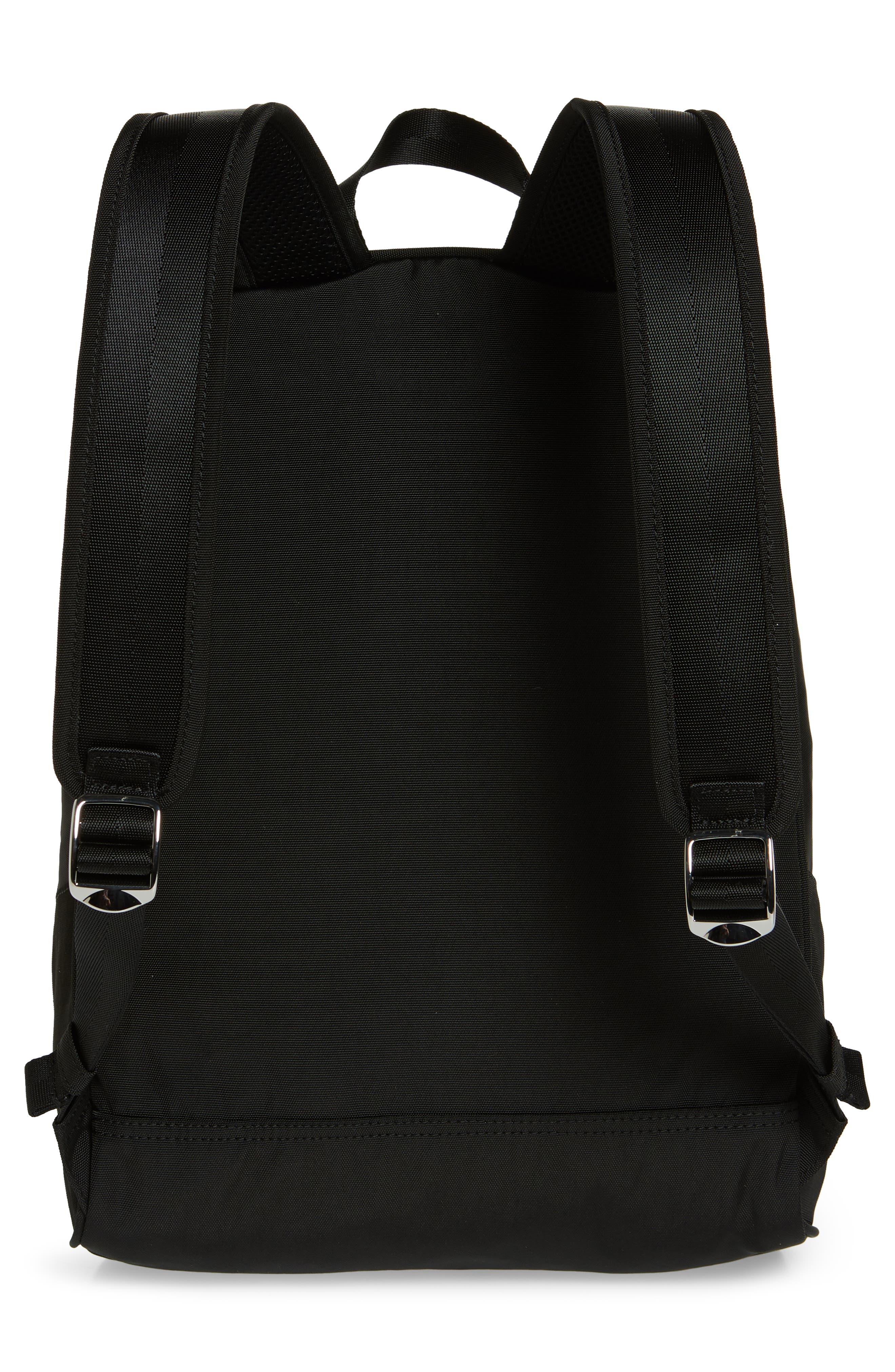 KENZO, Tiger Backpack, Alternate thumbnail 3, color, BLACK