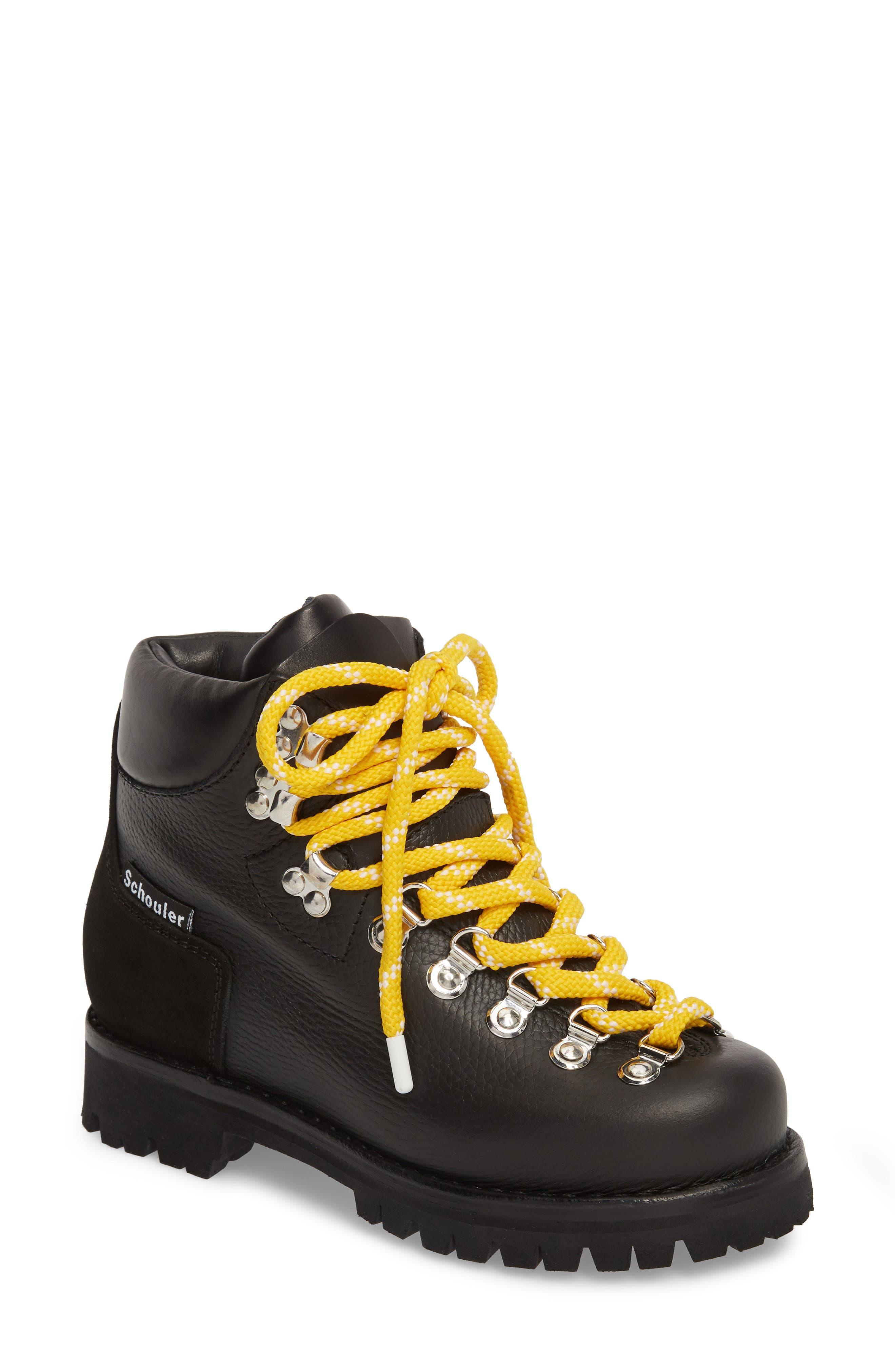 Proenza Schouler Hiker Boot, Black
