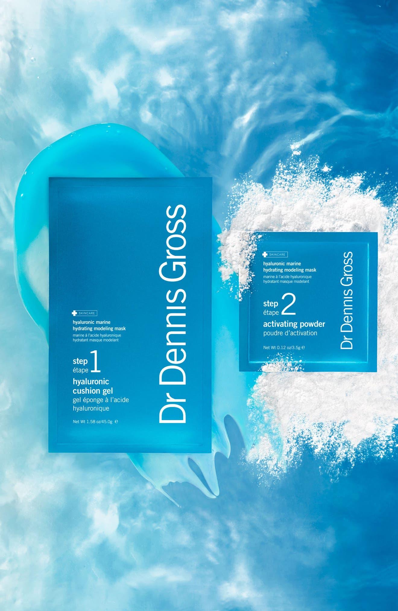 DR. DENNIS GROSS SKINCARE, Hyaluronic Marine Hydrating Modeling Mask System, Alternate thumbnail 5, color, NO COLOR