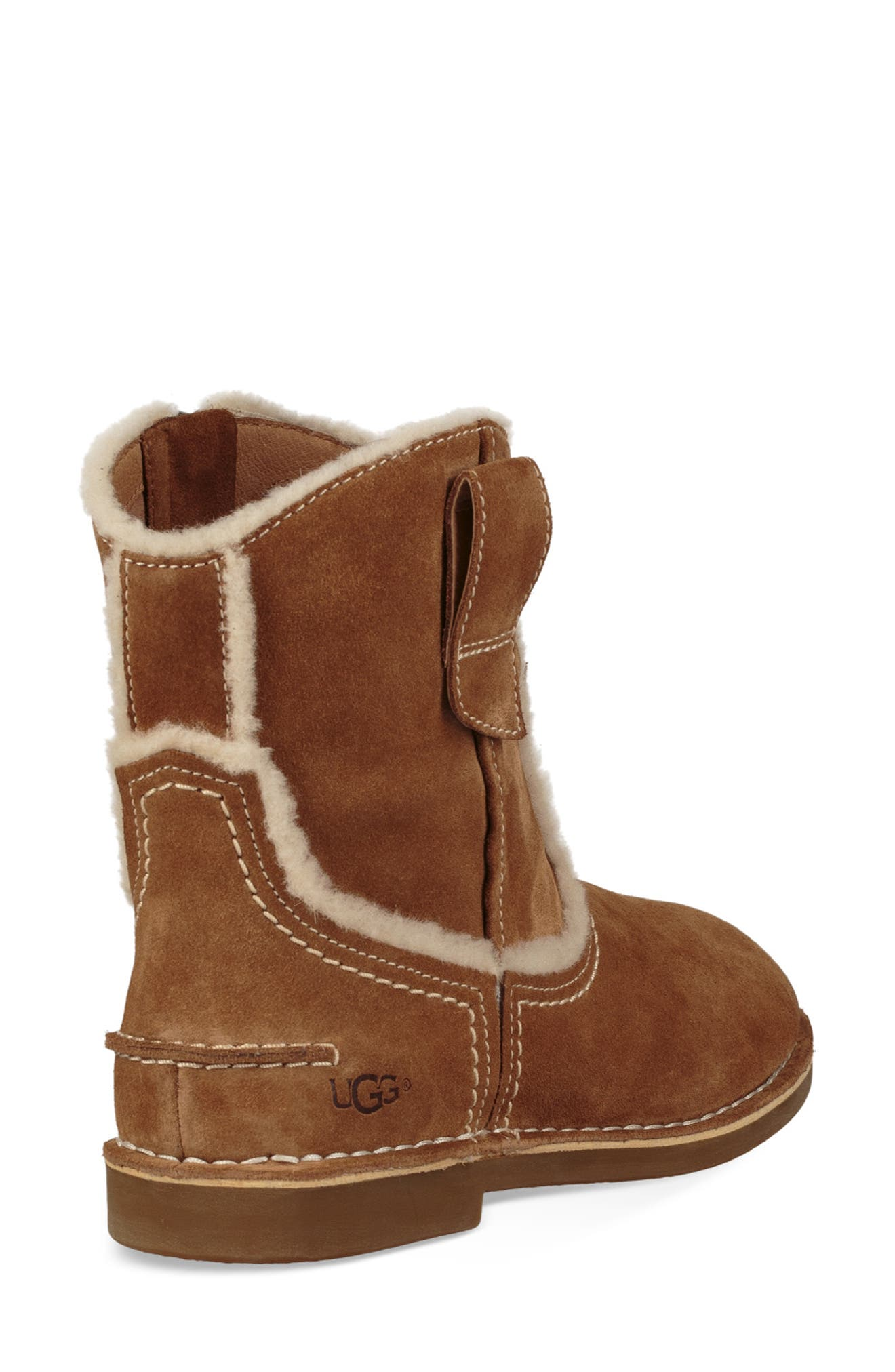 UGG<SUP>®</SUP>, Catica Boot, Alternate thumbnail 2, color, CHESTNUT SUEDE