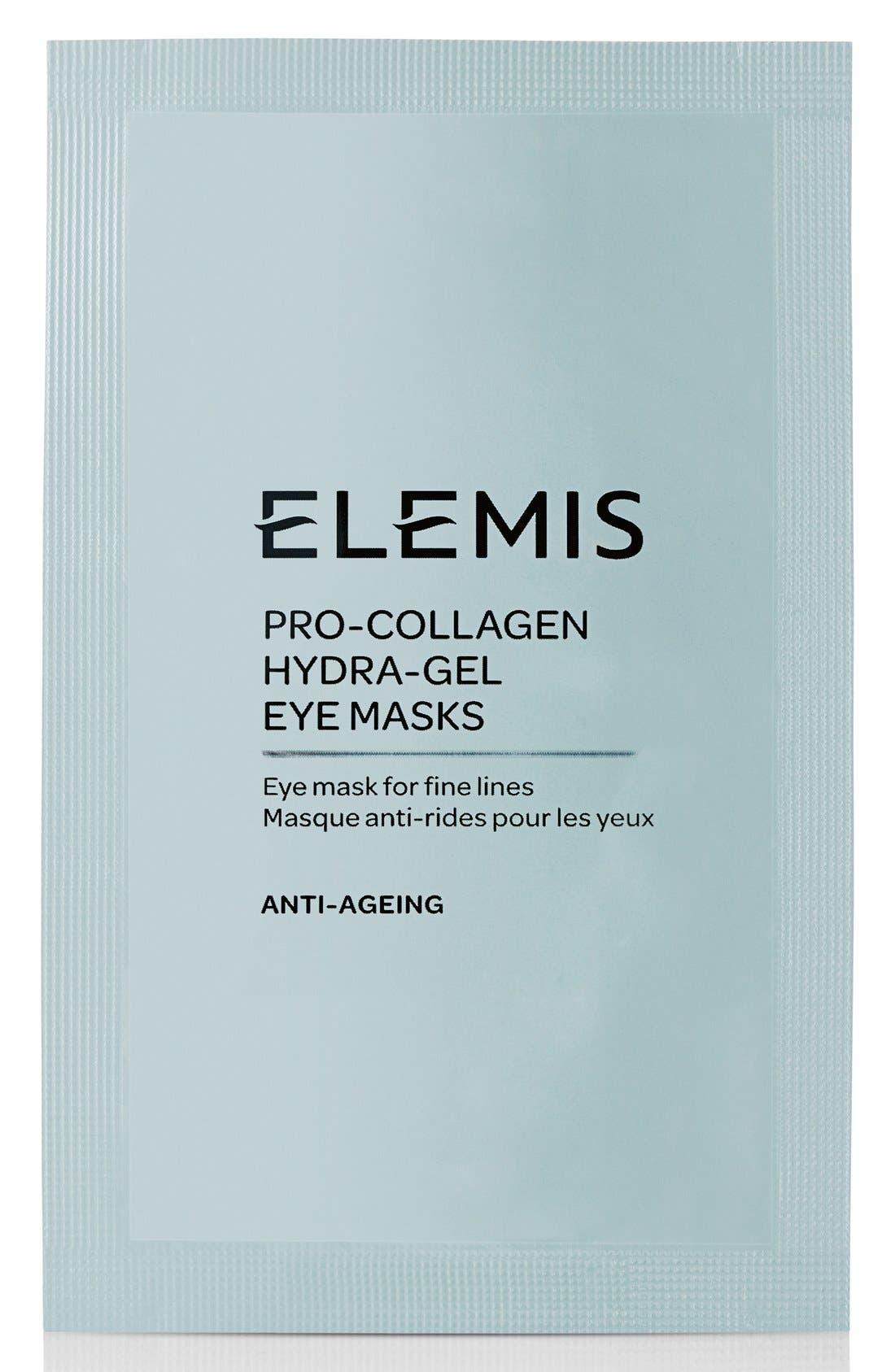 ELEMIS, Pro-Collagen Hydra-Gel Eye Mask, Main thumbnail 1, color, NO COLOR