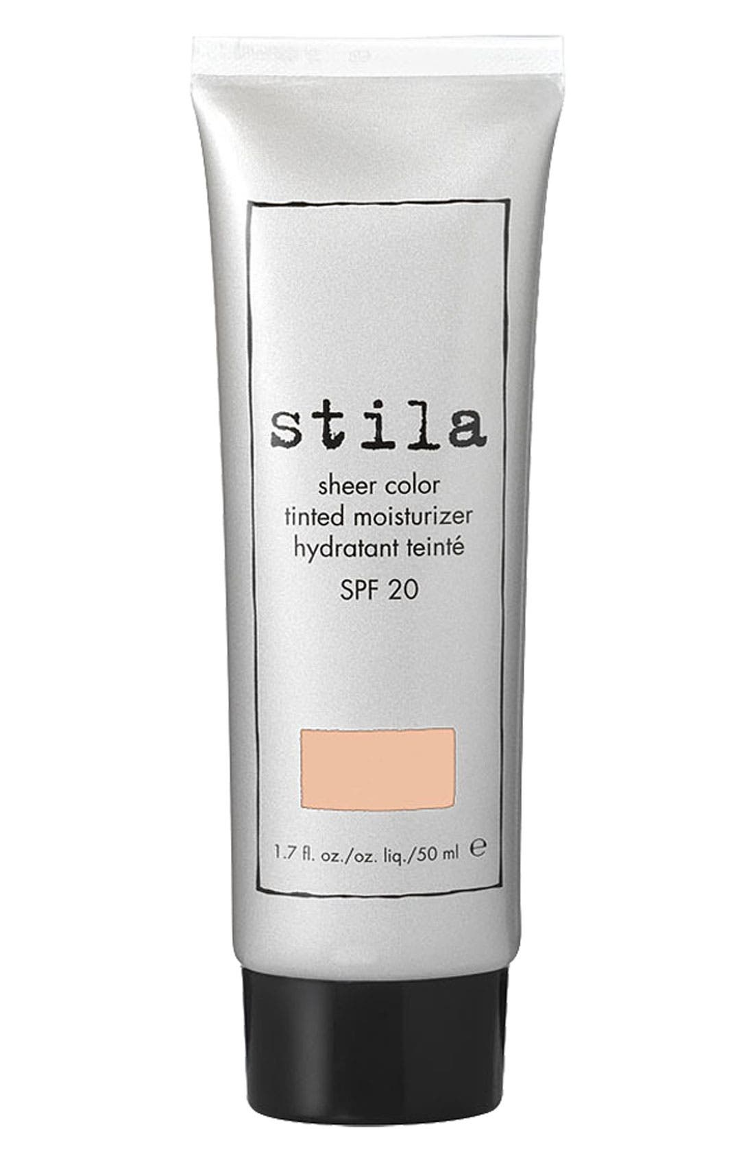 STILA 'sheer color' tinted moisturizer SPF 20, Main, color, 960