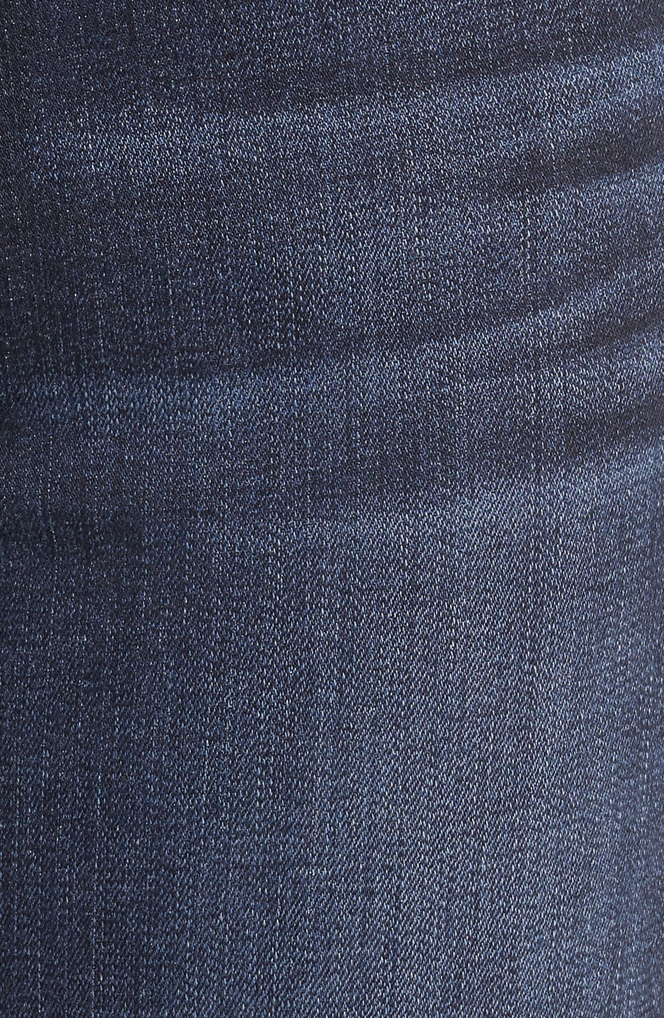 7 FOR ALL MANKIND<SUP>®</SUP>, The High Waist Skinny Jeans, Alternate thumbnail 6, color, AUTHENTIC FATE