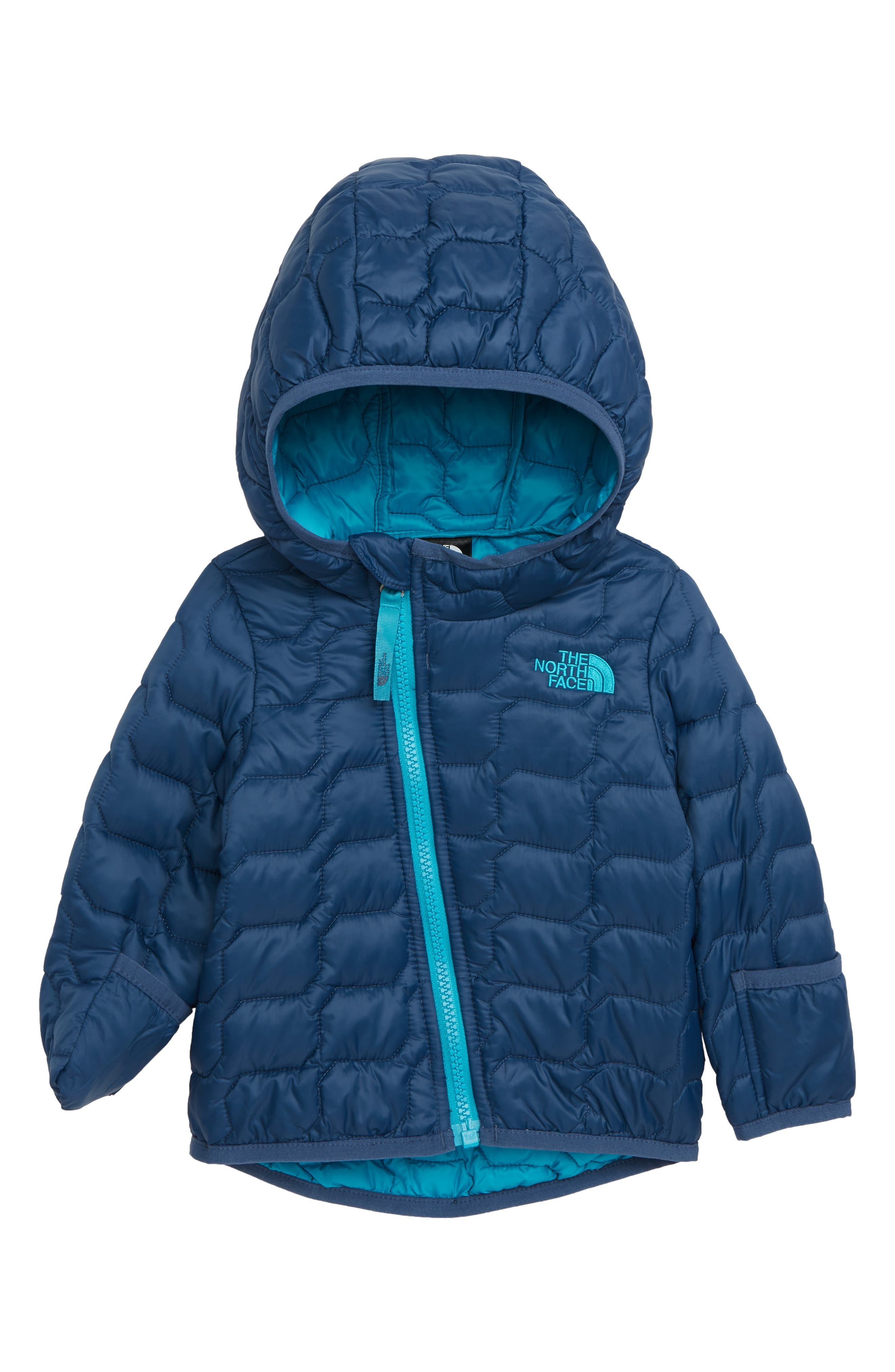 THE NORTH FACE ThermoBall<sup>™</sup> Hooded Coat, Main, color, SHADY BLUE