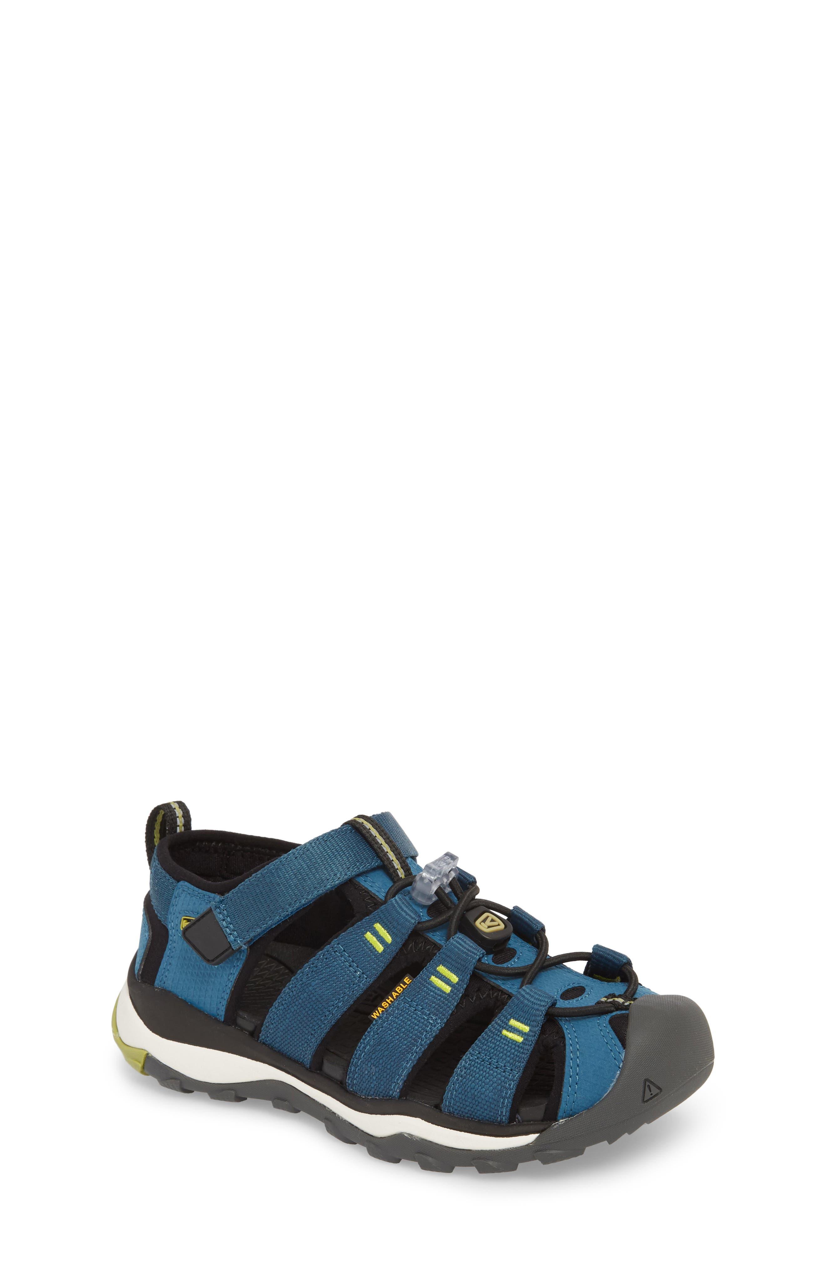 KEEN, Newport Neo H2 Water Friendly Sandal, Main thumbnail 1, color, LEGION BLUE/ MOSS