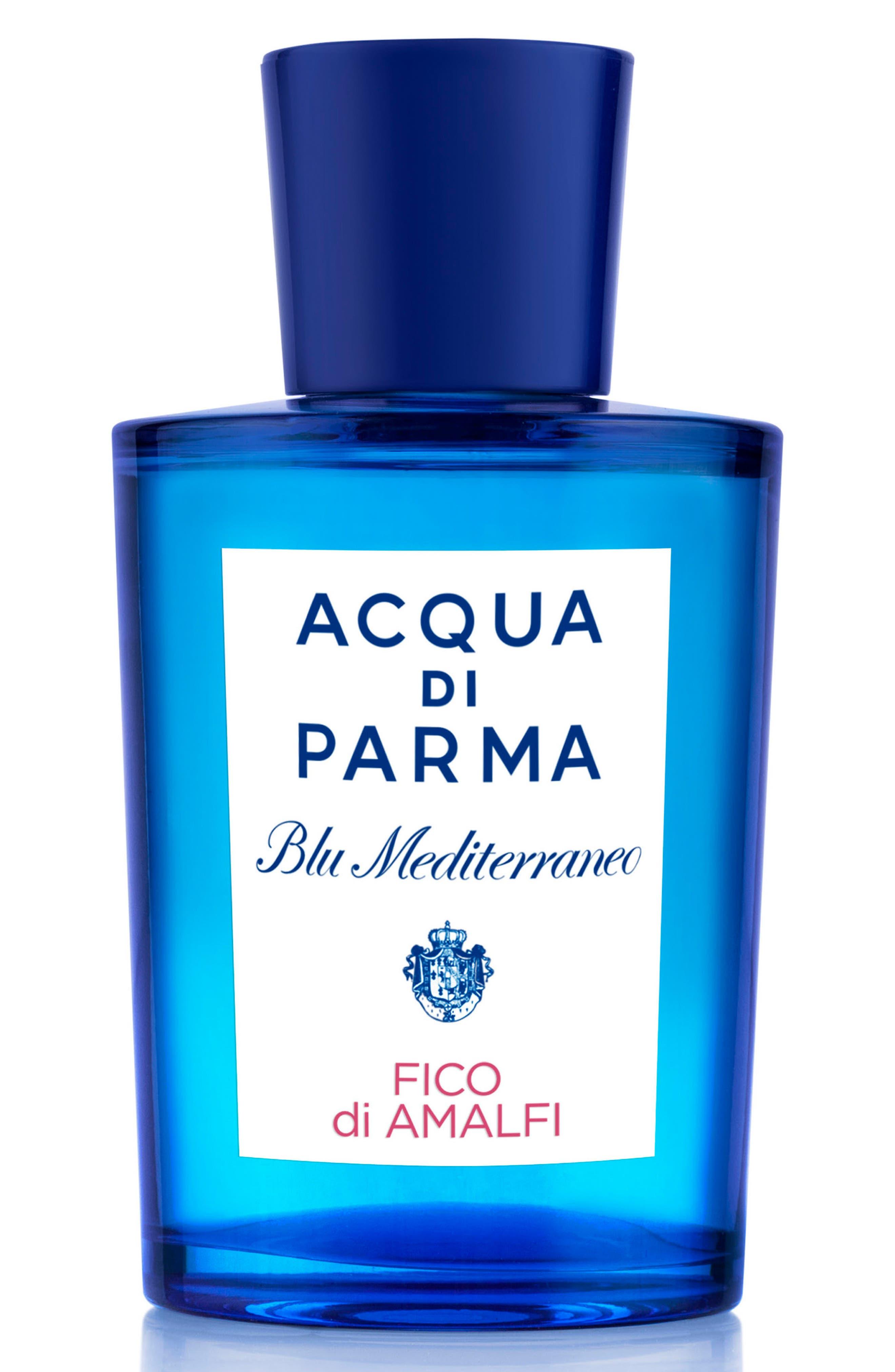 ACQUA DI PARMA, 'Blu Mediterraneo' Fico di Amalfi Eau de Toilette Spray, Main thumbnail 1, color, NO COLOR