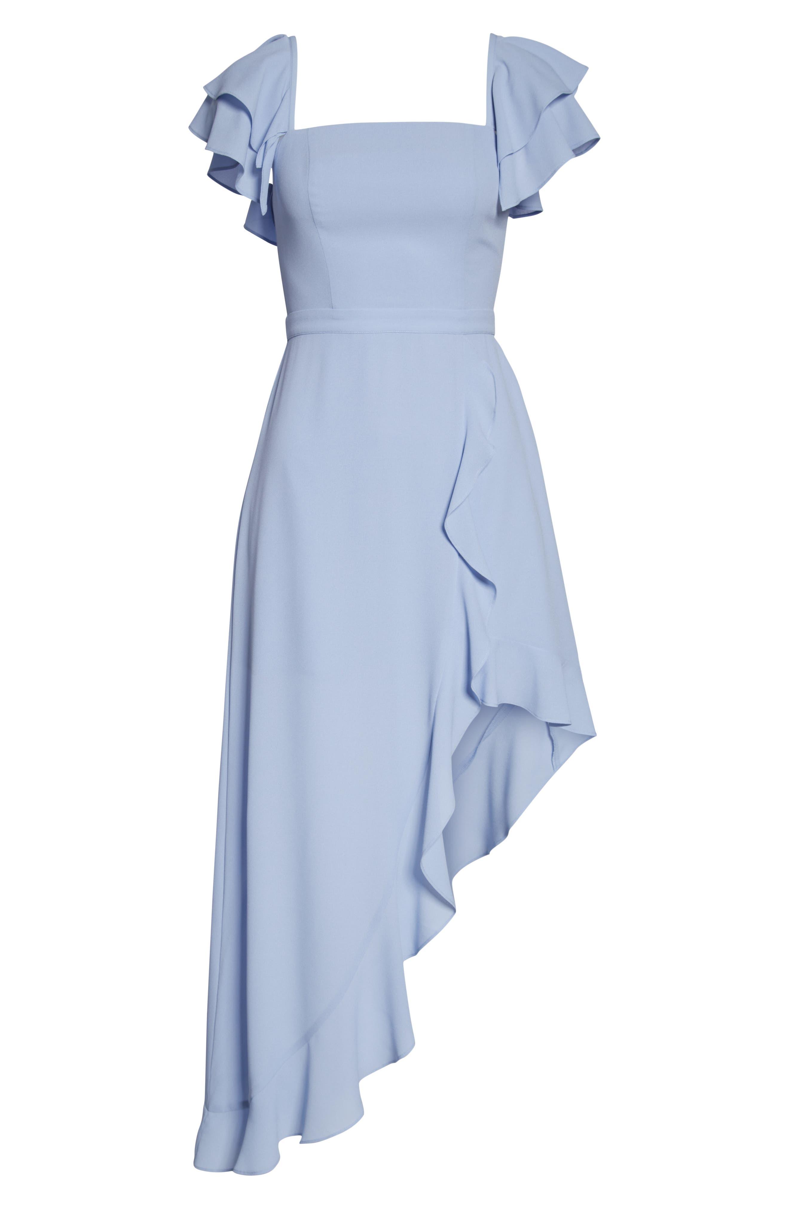 ALI & JAY, Terrace Time Asymmetrical Maxi Dress, Alternate thumbnail 7, color, 400