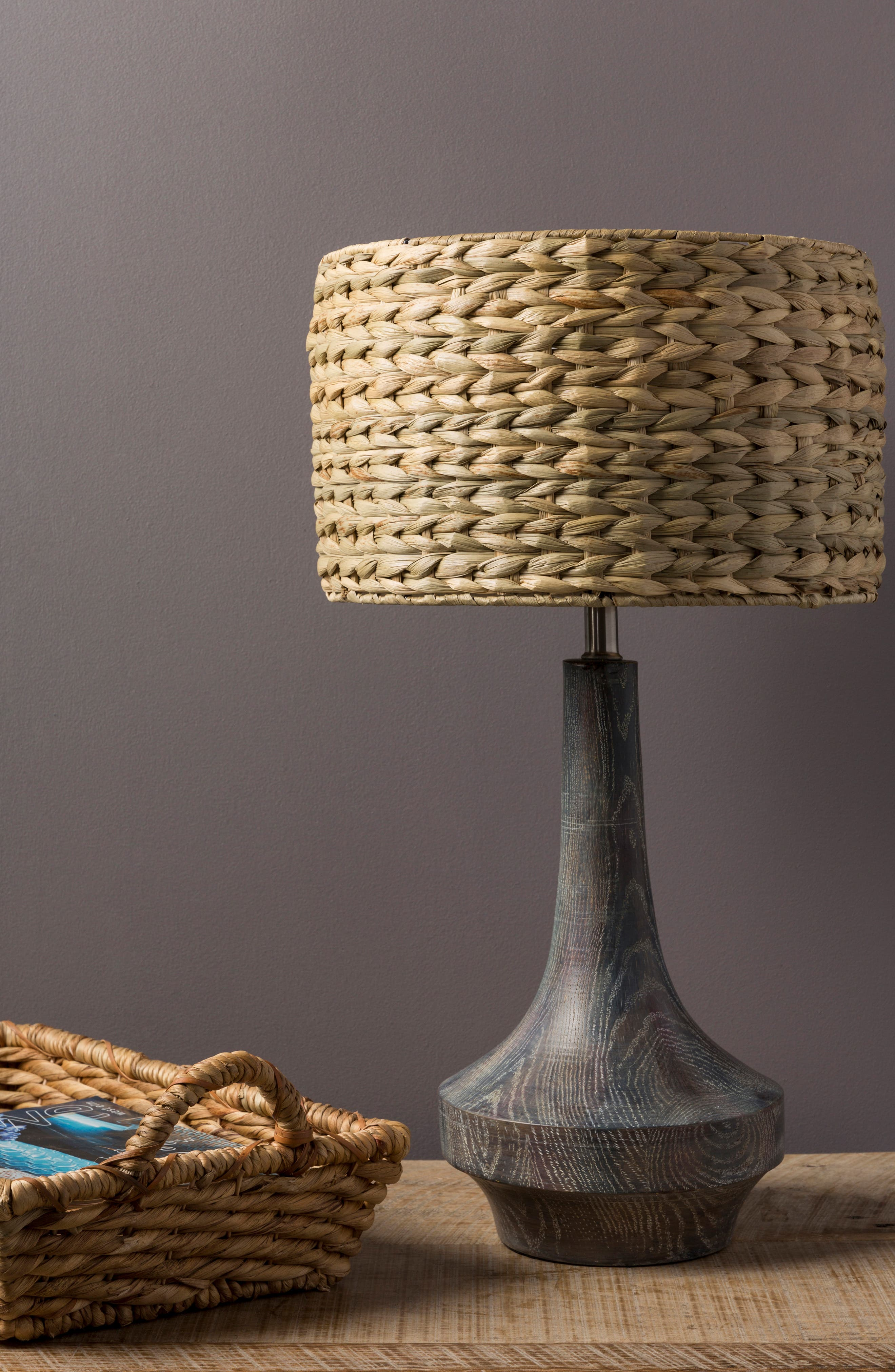 SURYA HOME, Carson Table Lamp, Alternate thumbnail 5, color, CAMEL