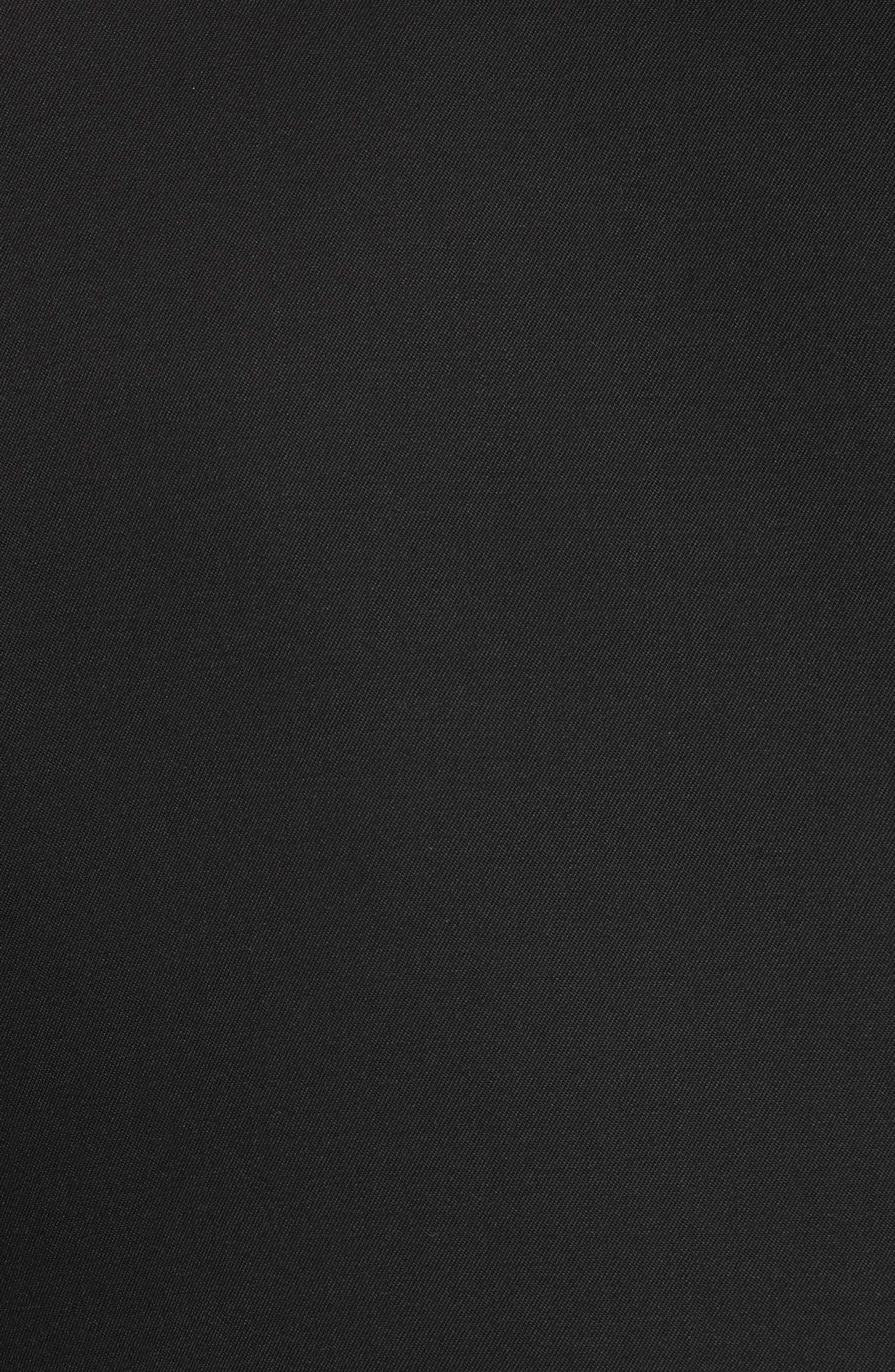 CALVIN KLEIN 205W39NYC, Wool Gabardine Blazer, Alternate thumbnail 6, color, BLACK