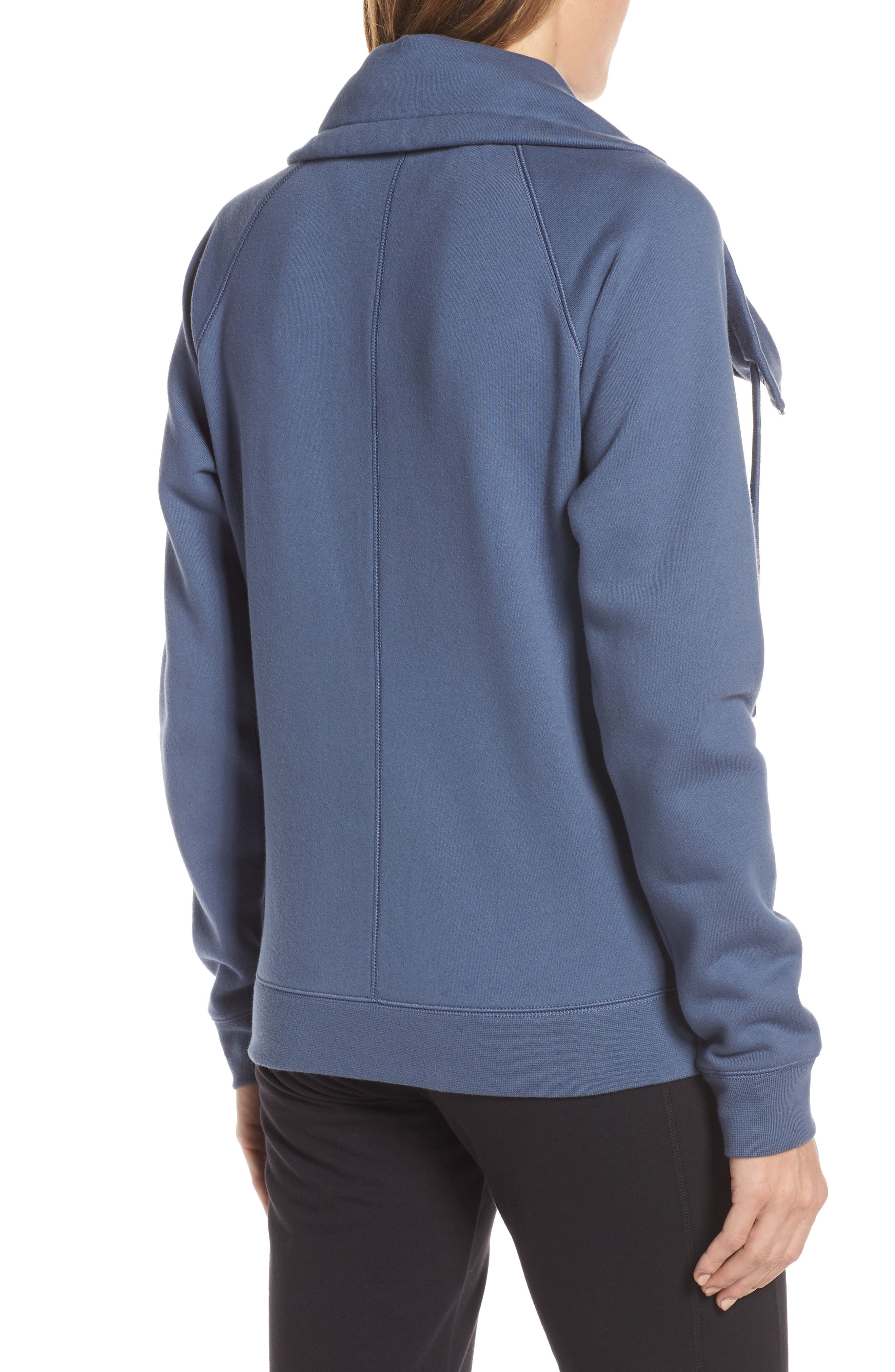 ZELLA, Old School Daydream Jacket, Alternate thumbnail 2, color, BLUE VINTAGE