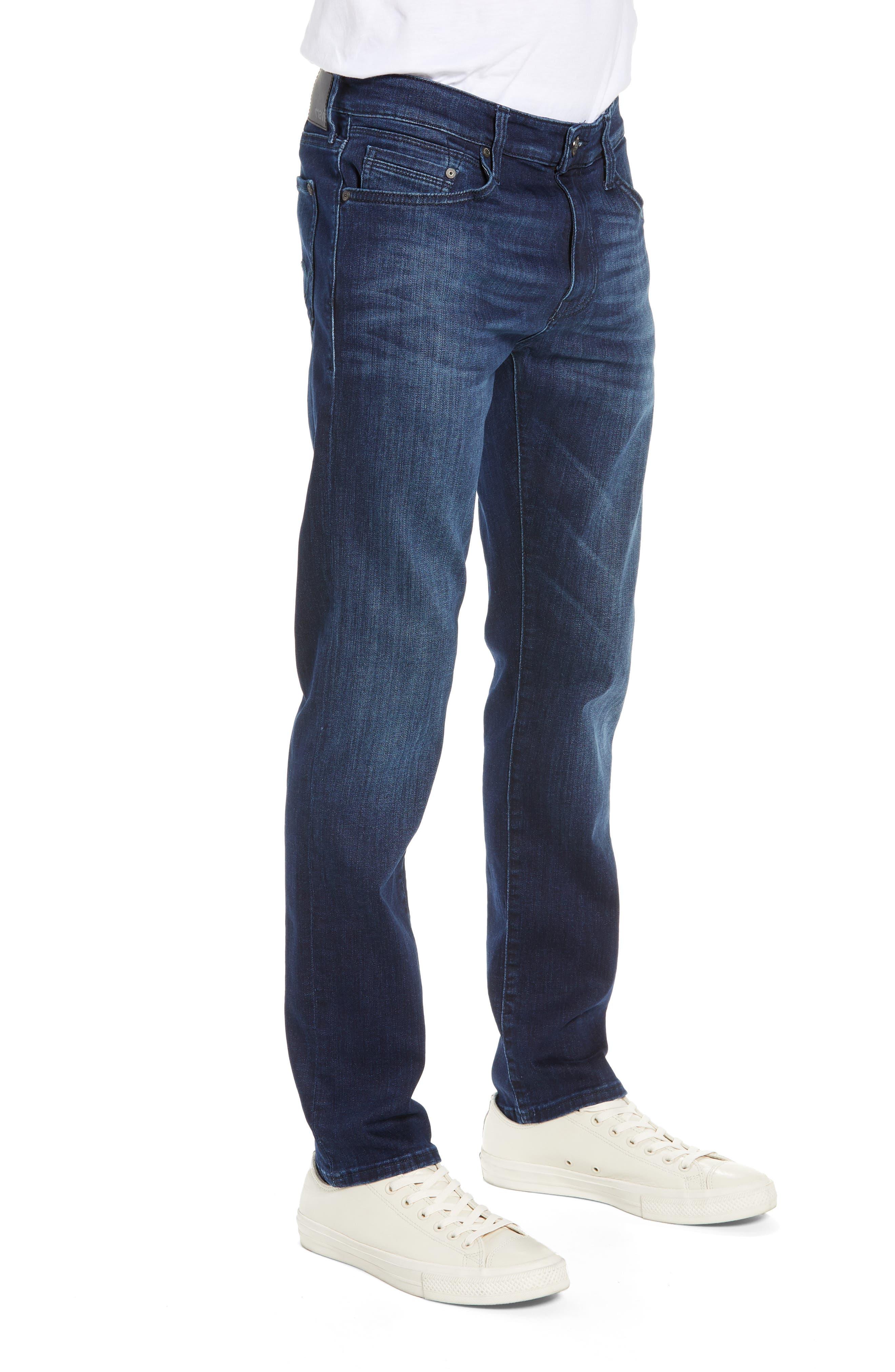 MAVI JEANS, Jake Slim Fit Jeans, Alternate thumbnail 4, color, DARK TONAL WILLIAMSBURG