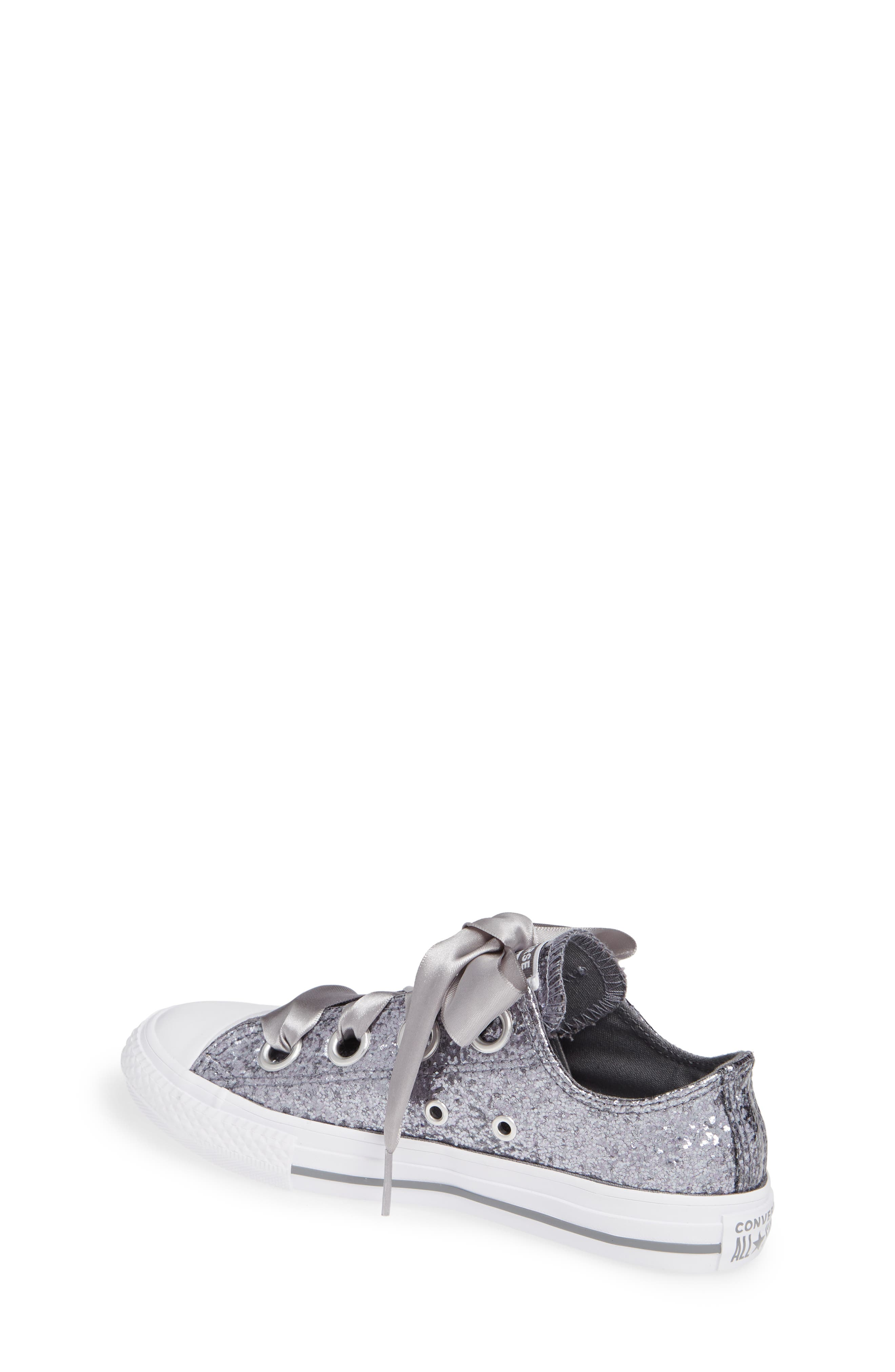 CONVERSE, Chuck Taylor<sup>®</sup> All Star<sup>®</sup> Glitter Big Eyelet Ox Sneaker, Alternate thumbnail 2, color, 020