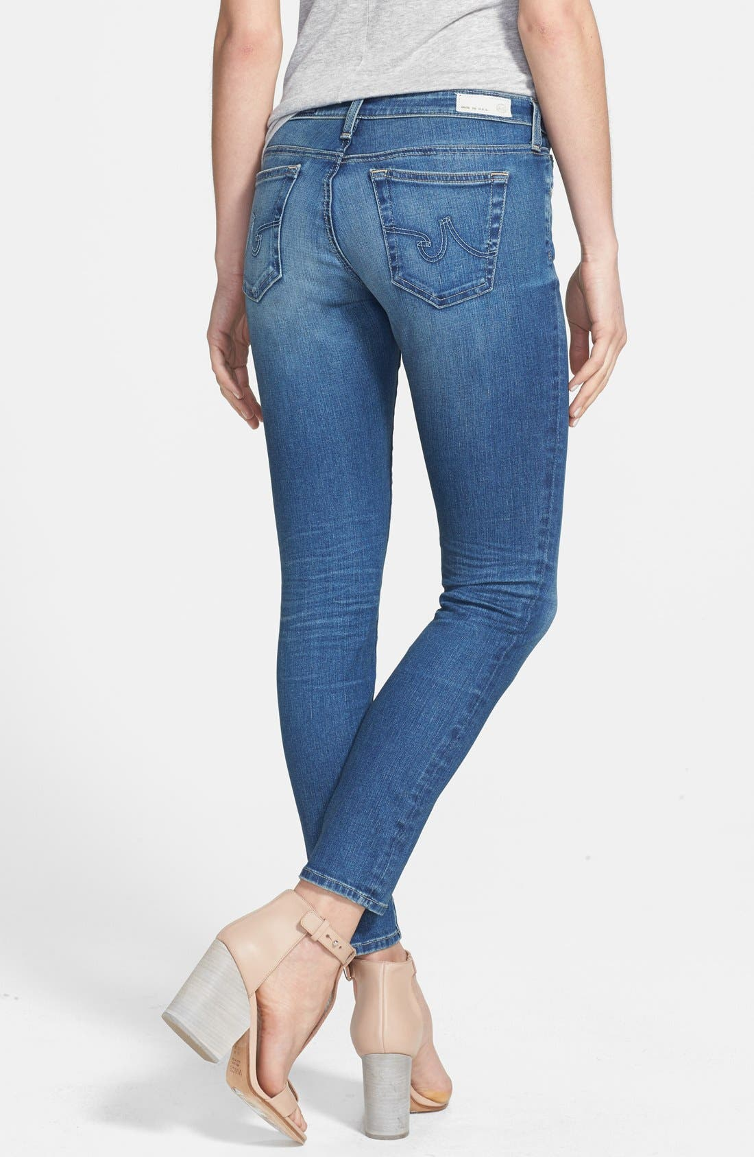 AG, 'The Legging' Ankle Jeans, Alternate thumbnail 5, color, 18 YEAR