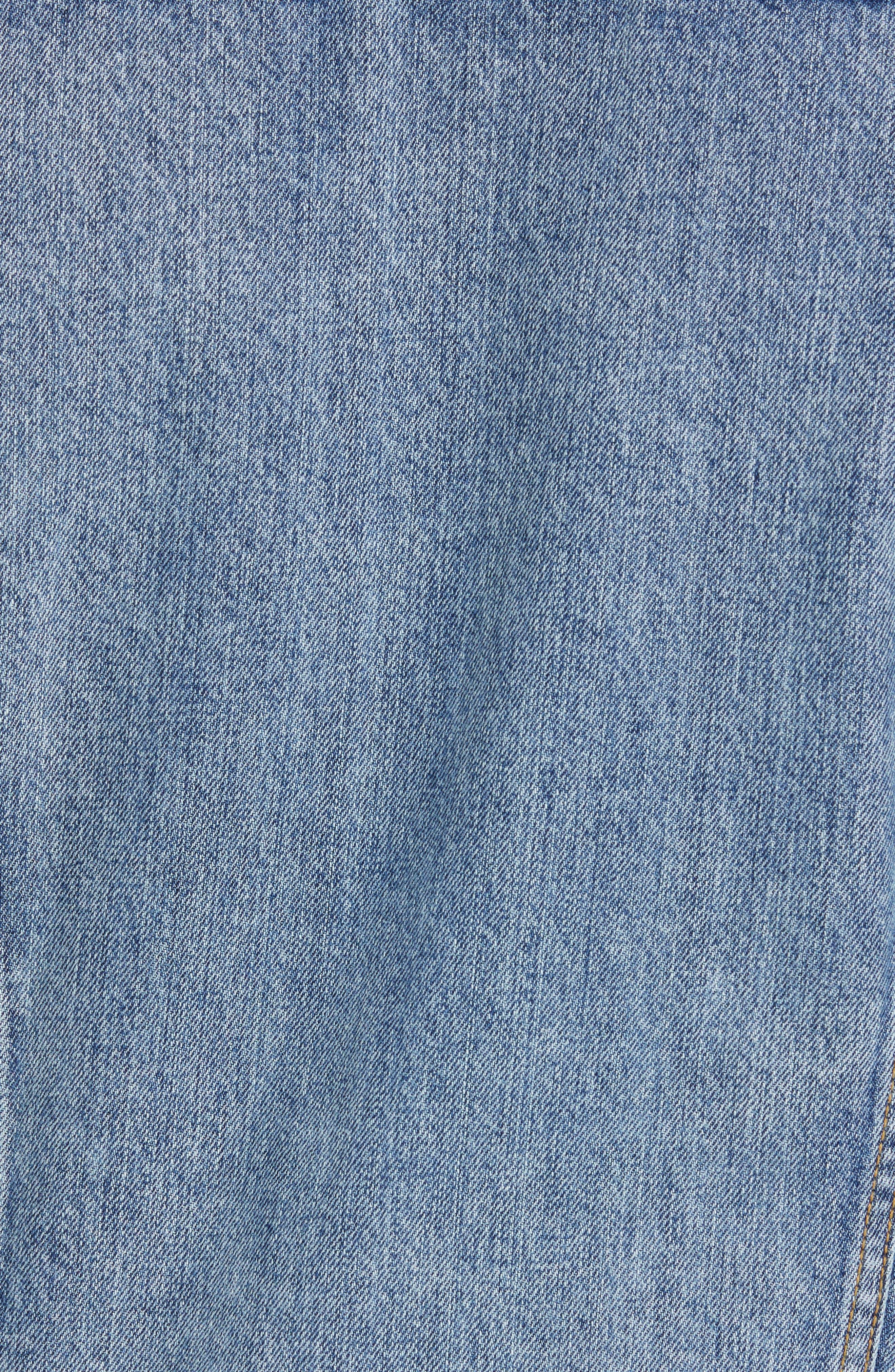 LEVI'S<SUP>®</SUP>, Denim Trucker Jacket, Alternate thumbnail 7, color, ICY