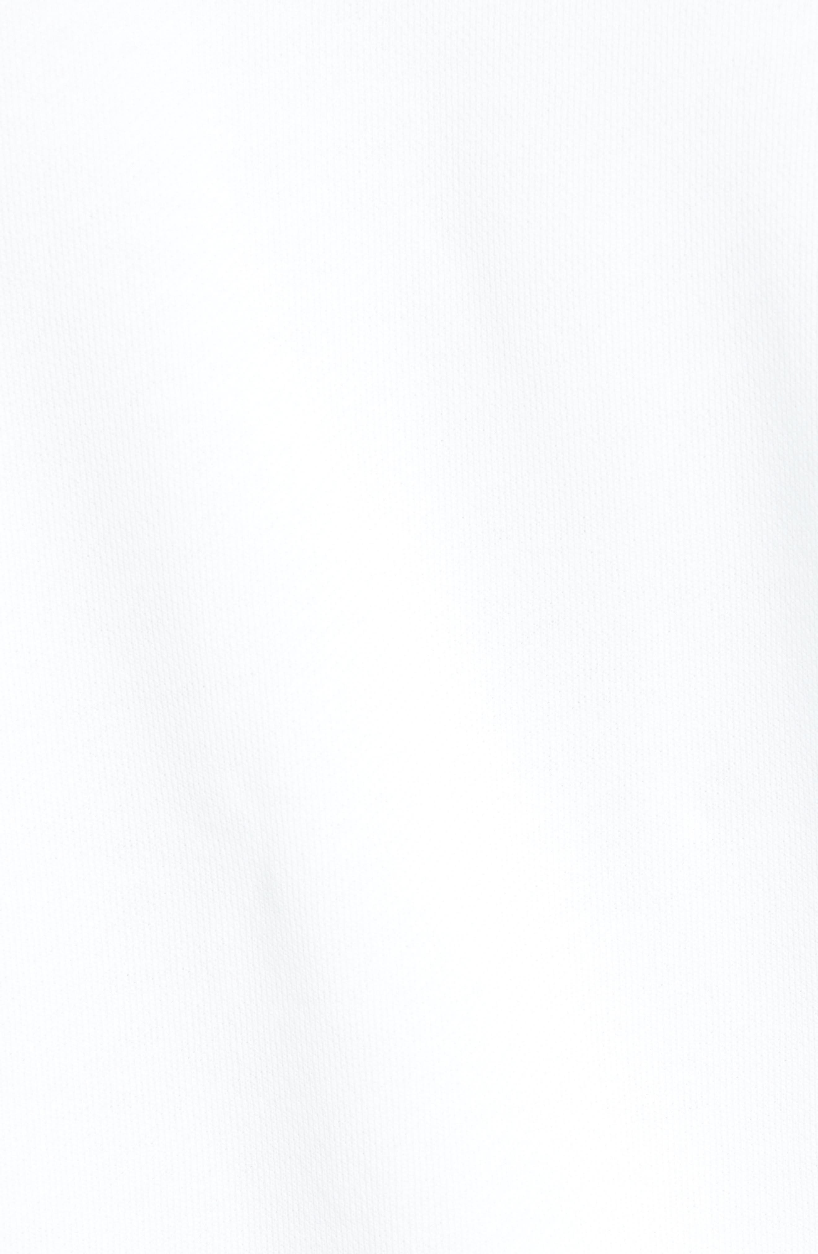ADIDAS ORIGINALS, Trefoil Sweatshirt, Alternate thumbnail 5, color, WHITE