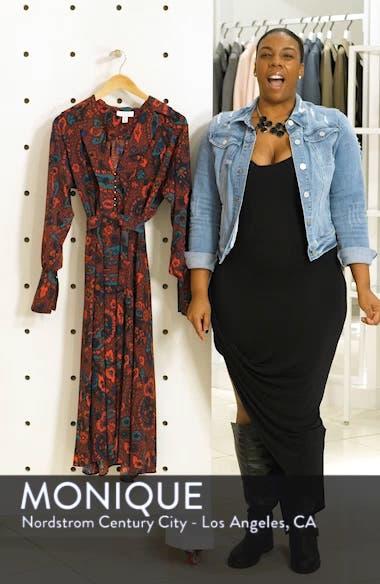 Paisley Oversize Shirtdress, sales video thumbnail