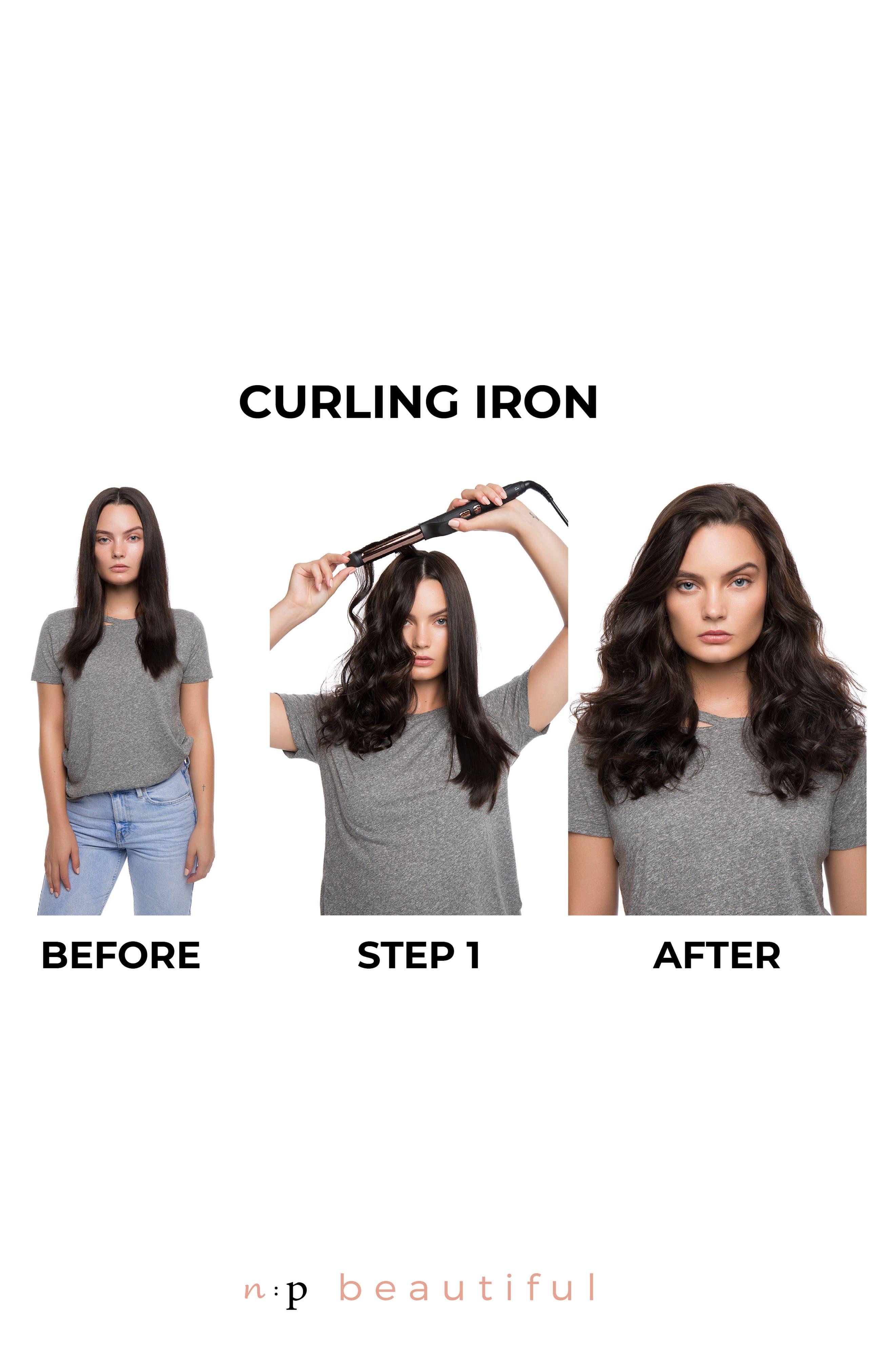N:P BEAUTIFUL, Curling Iron, Alternate thumbnail 4, color, NO COLOR