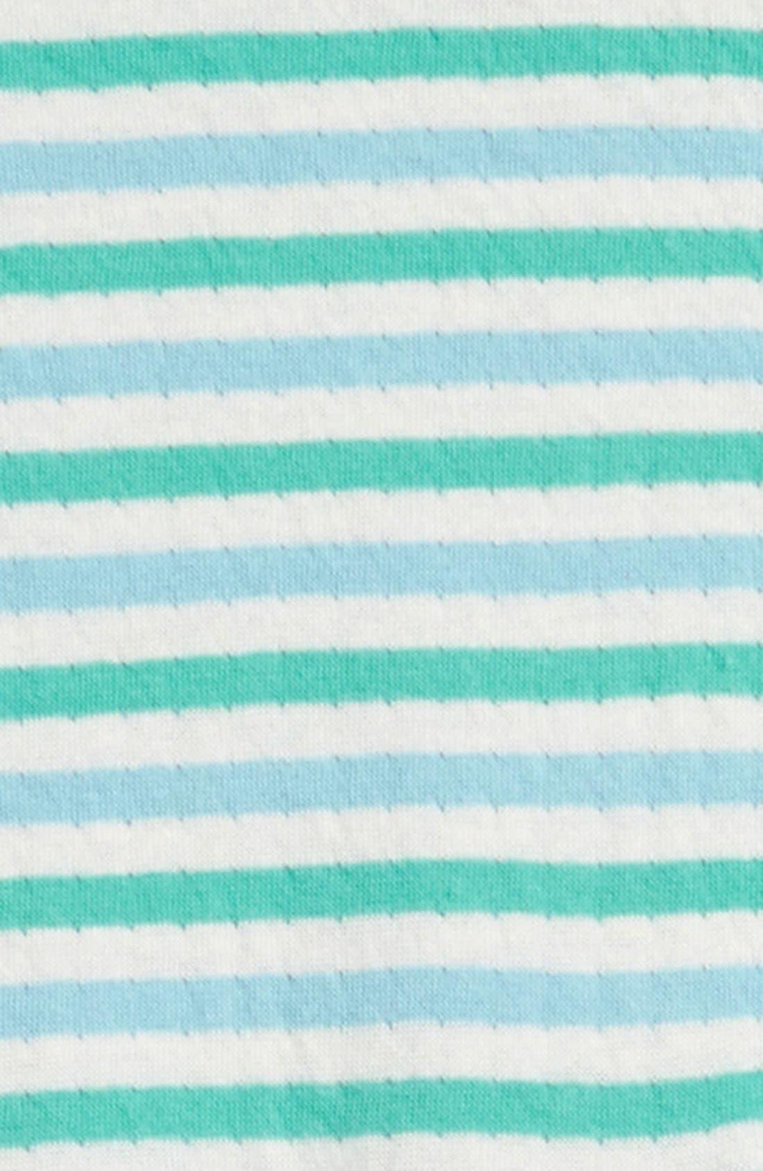 STEM BABY, Reversible Organic Cotton Romper, Alternate thumbnail 3, color, 450