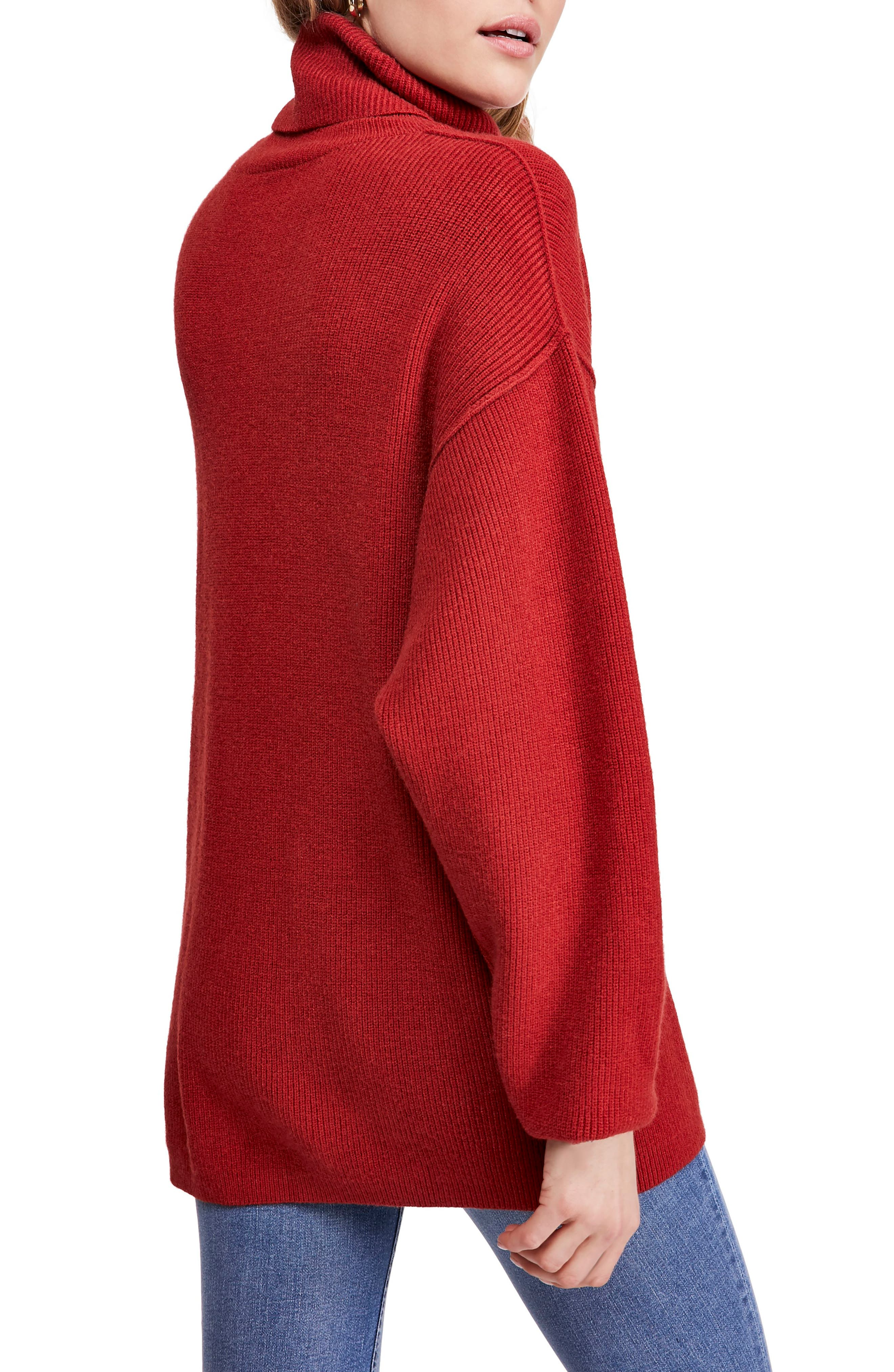 FREE PEOPLE, Softly Structured Knit Tunic, Alternate thumbnail 2, color, 600
