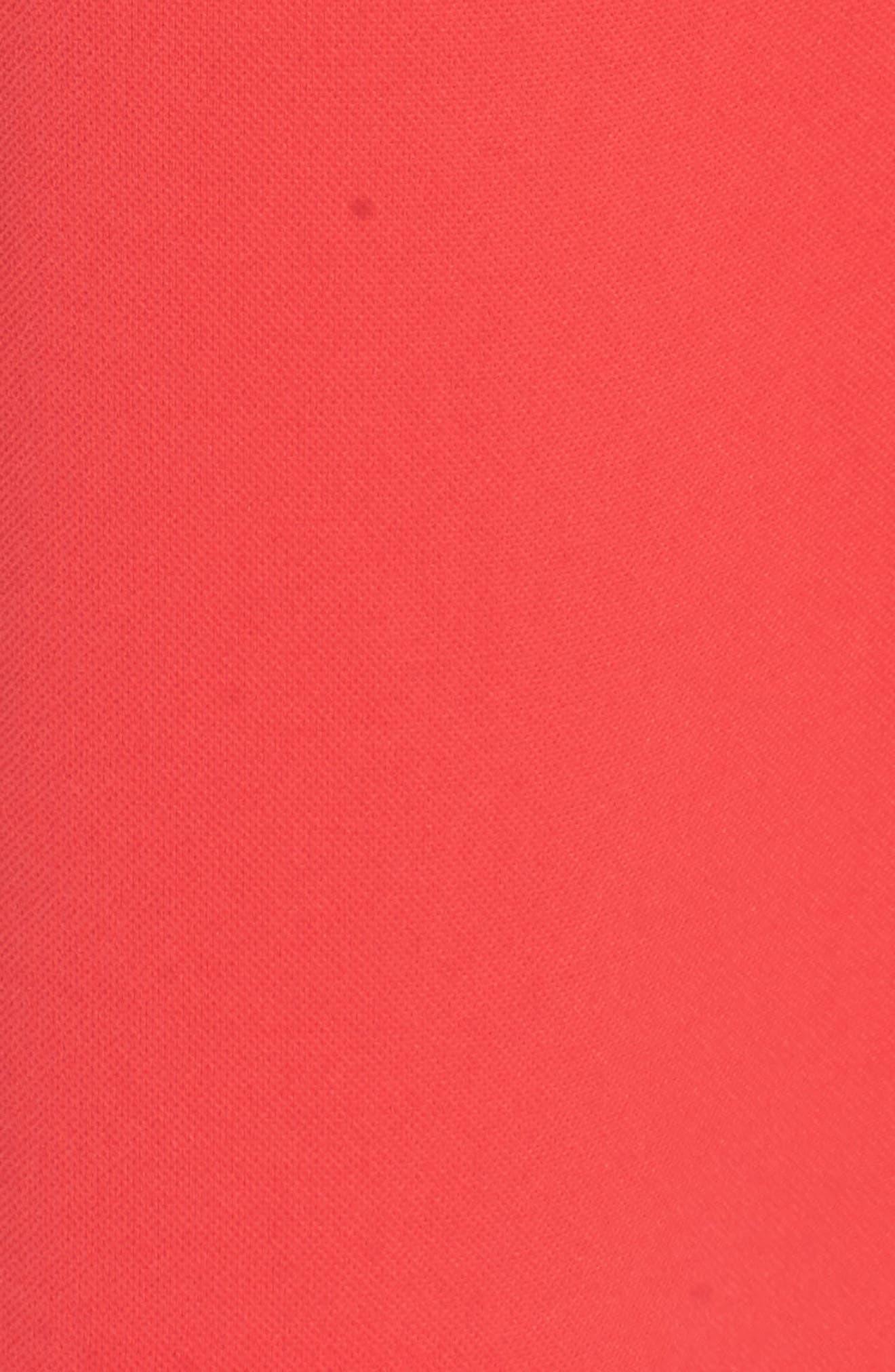 ADRIANNA PAPELL, Crepe Shift Dress, Alternate thumbnail 6, color, 650