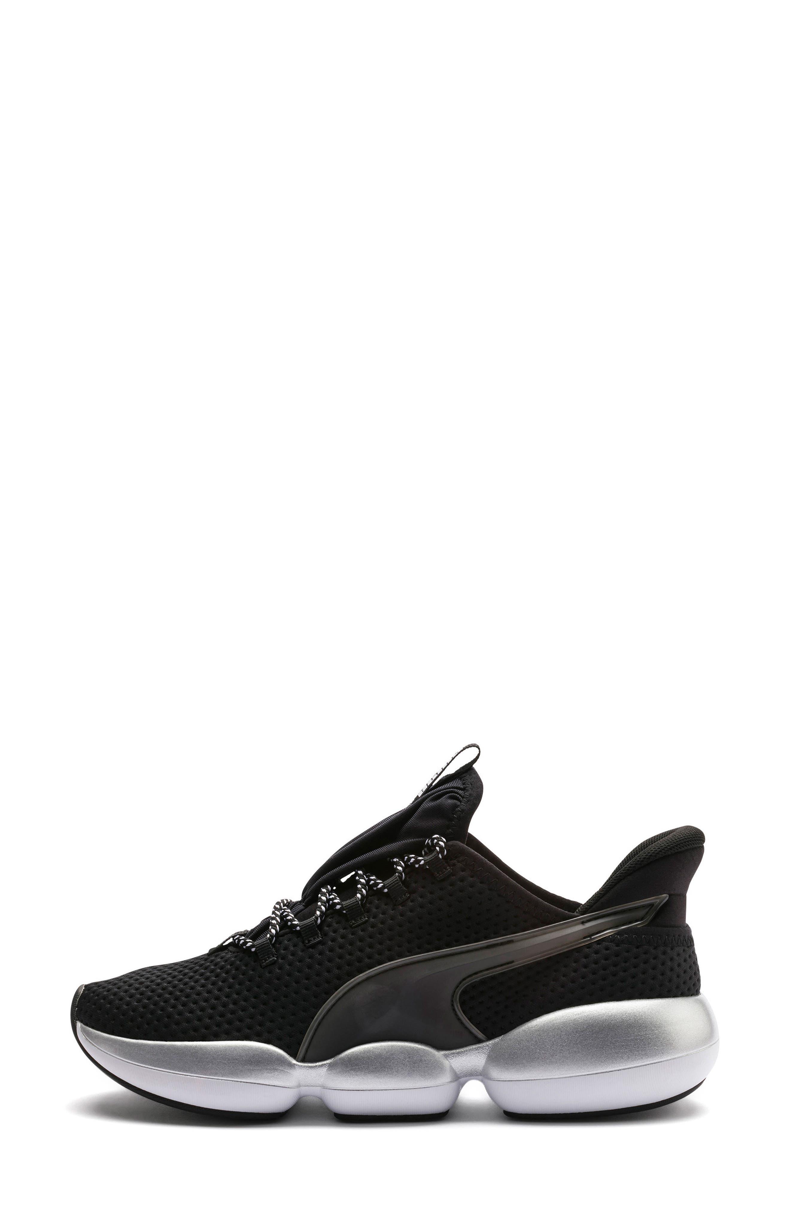 PUMA, Mode XT Hybrid Training Shoe, Alternate thumbnail 9, color, BLACK