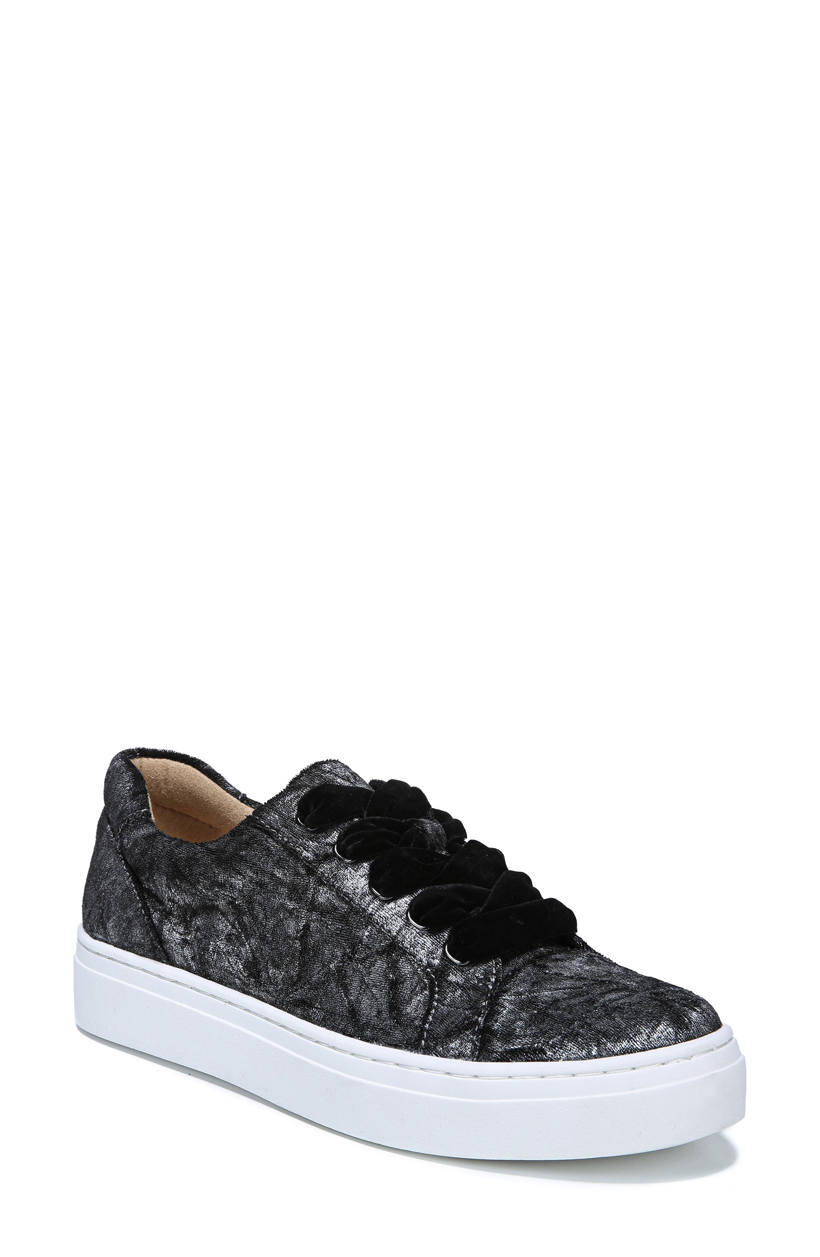 NATURALIZER, Cairo Sneaker, Main thumbnail 1, color, PEWTER VELVET