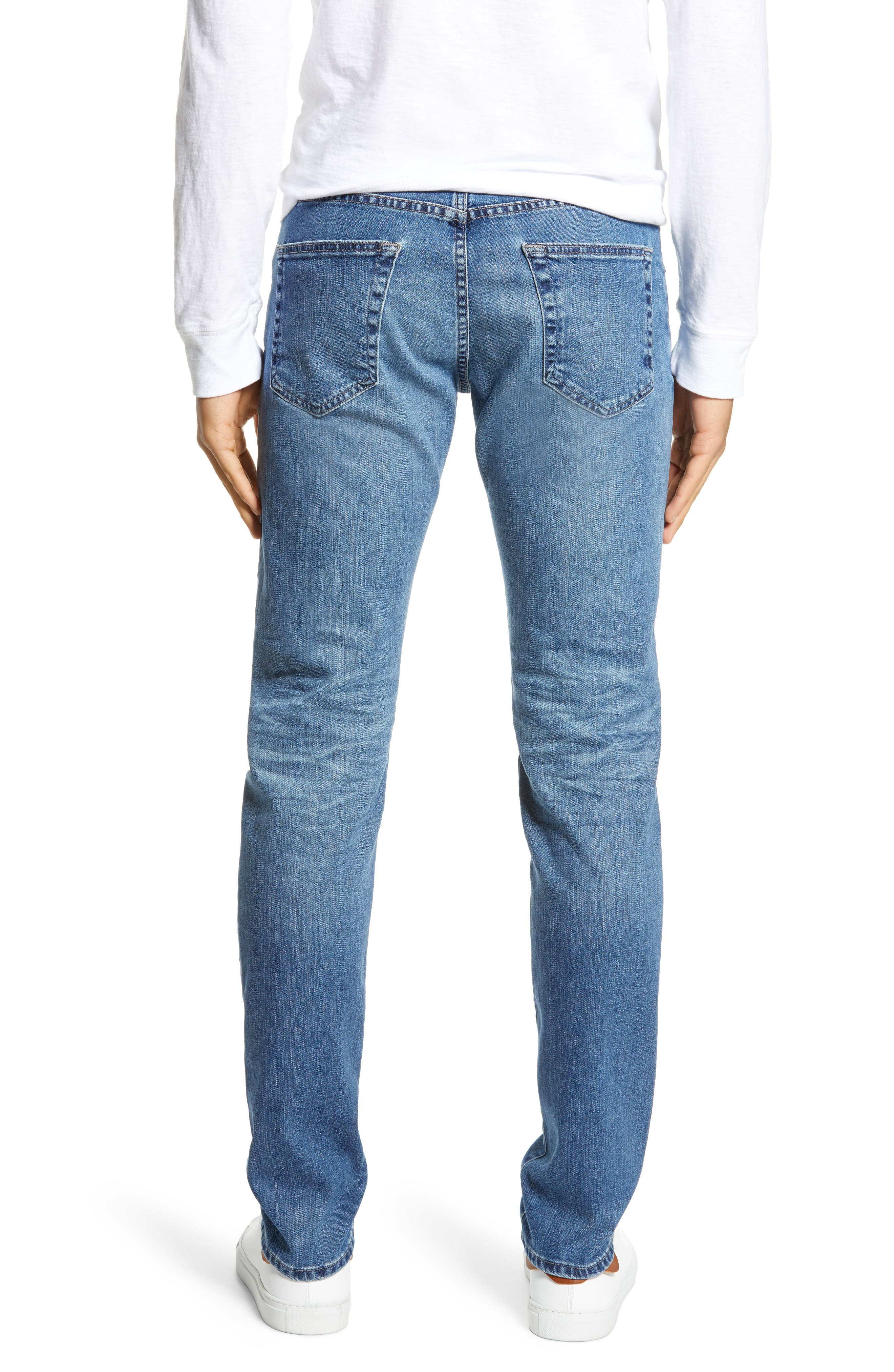 AG, Tellis Slim Fit Jeans, Alternate thumbnail 2, color, 16 YEARS EAVES