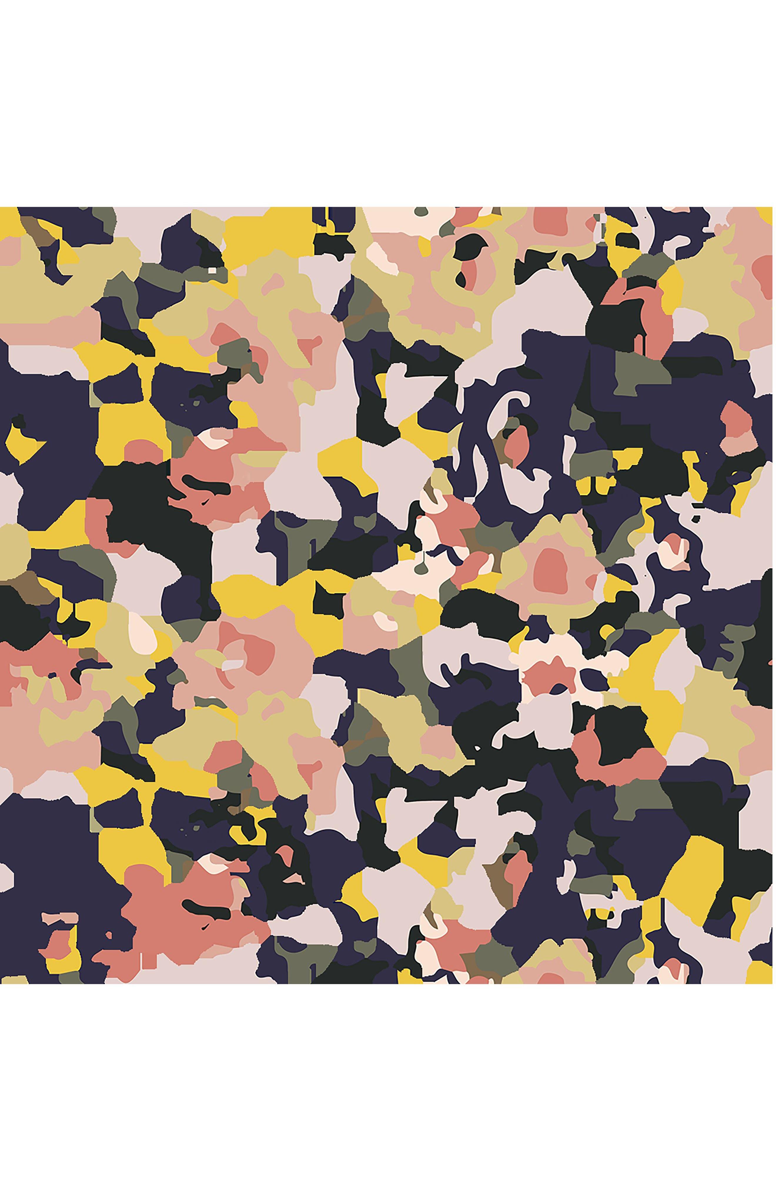 BÉBÉ AU LAIT, Cotton Muslin Infinity Nursing Scarf, Alternate thumbnail 3, color, INDIGO